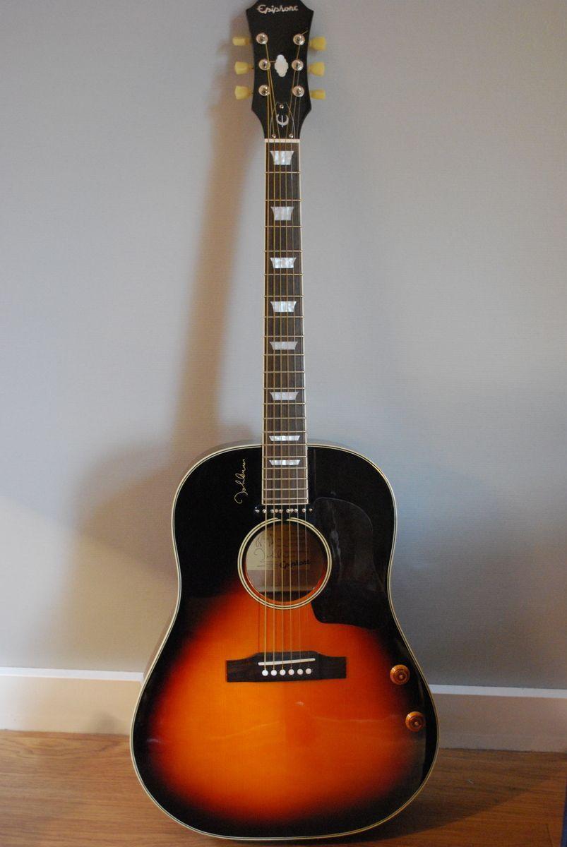 Epiphone lennon casino guitar 12