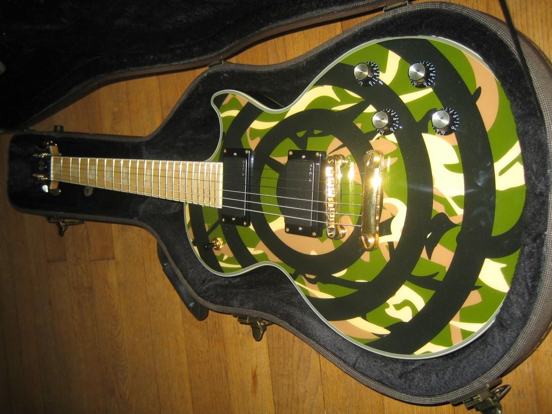 guitare zakk wylde occasion