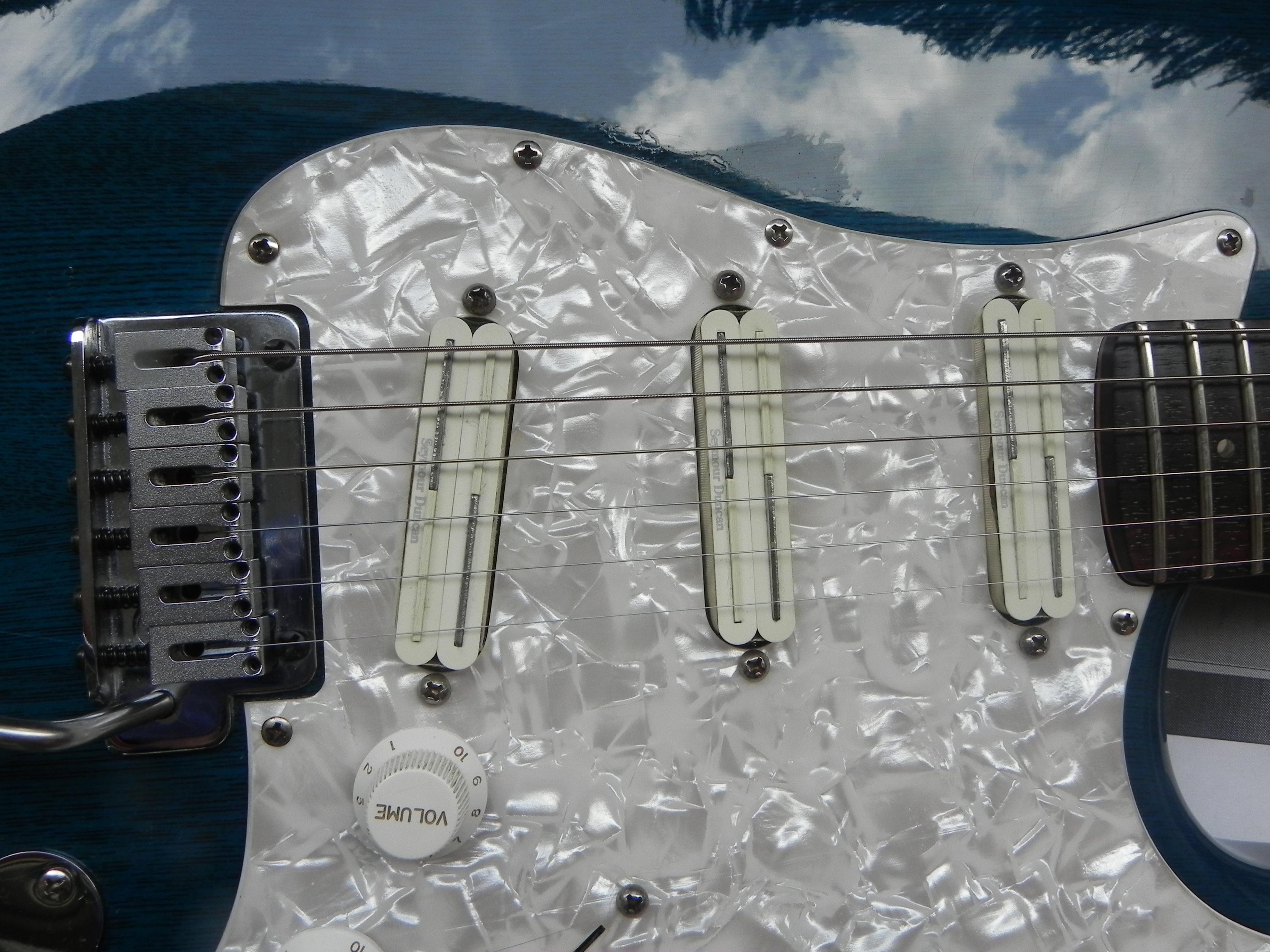 Esp vintage plus guitar
