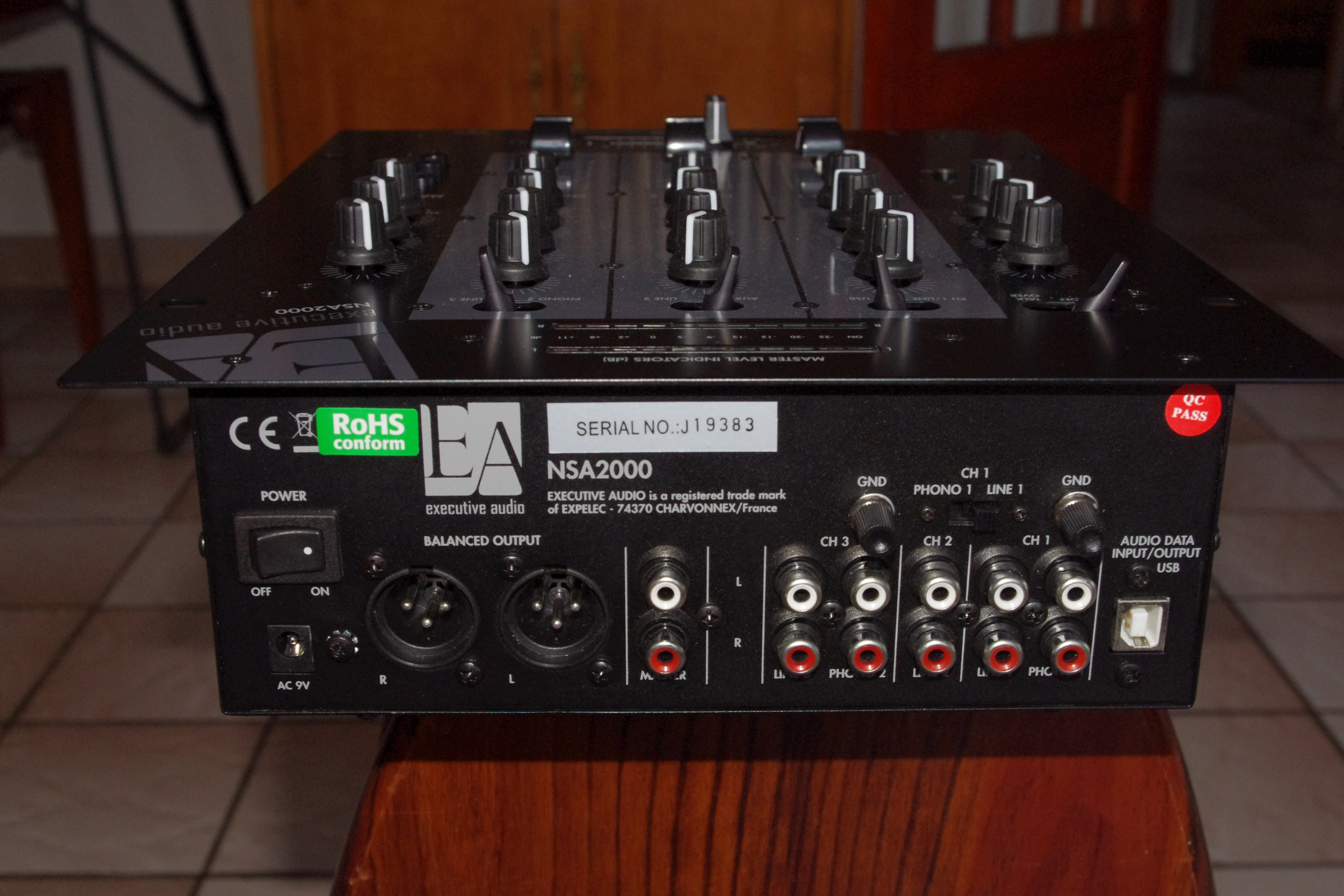 table de mixage pro executive audio nsa 2000usb ile de. Black Bedroom Furniture Sets. Home Design Ideas