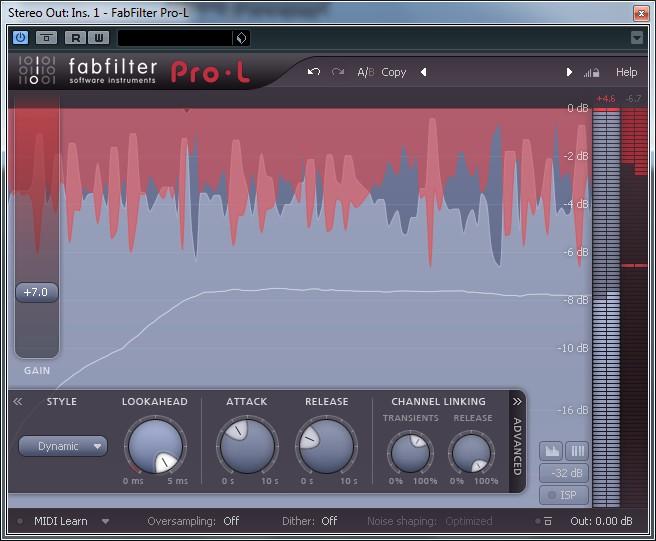 PRO-L - FabFilter Pro-L - Audiofanzine