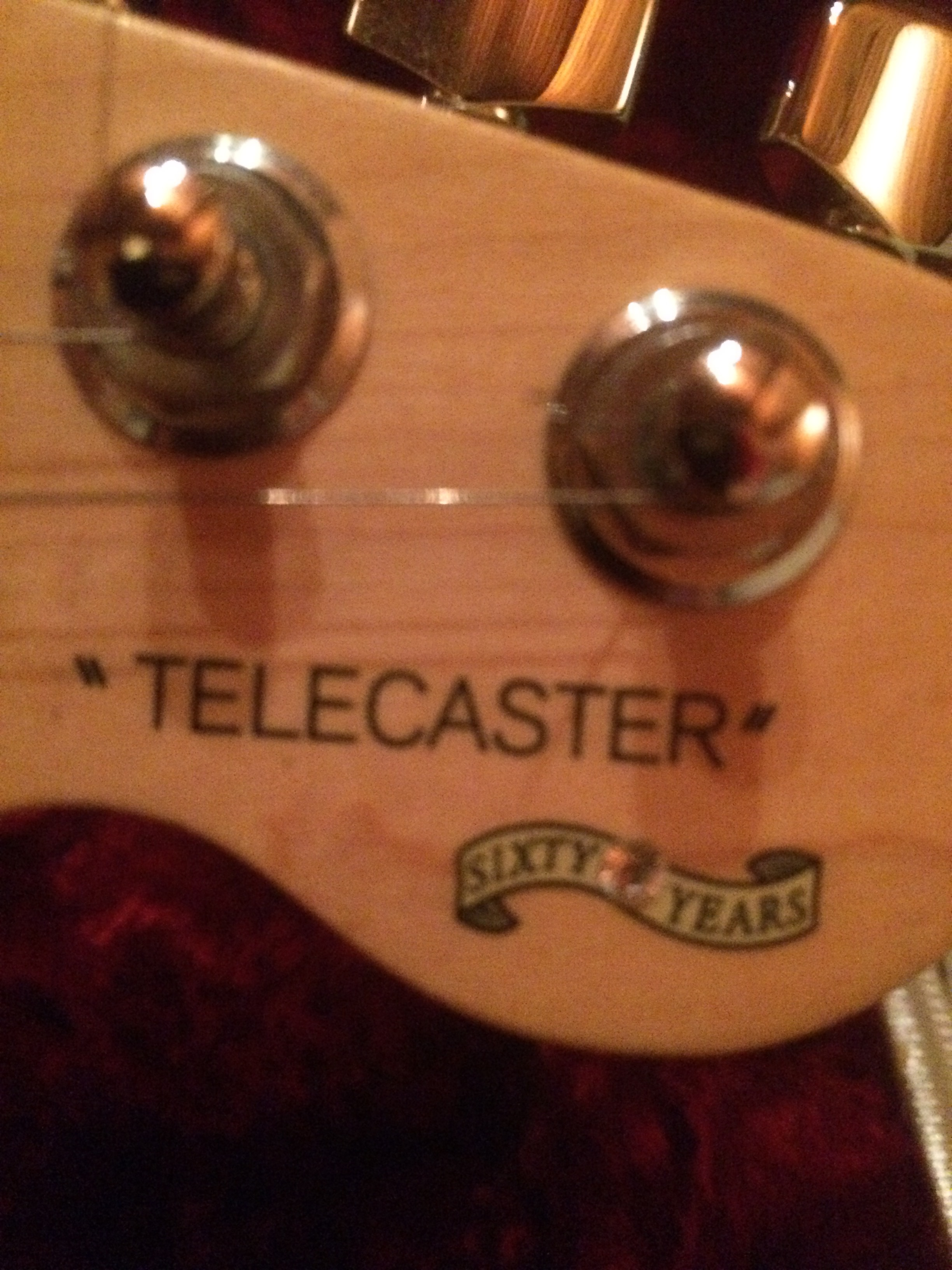 60th Anniversary Limited Edition Telecaster 2006 Fender  # But Magasin Le Pontet Television