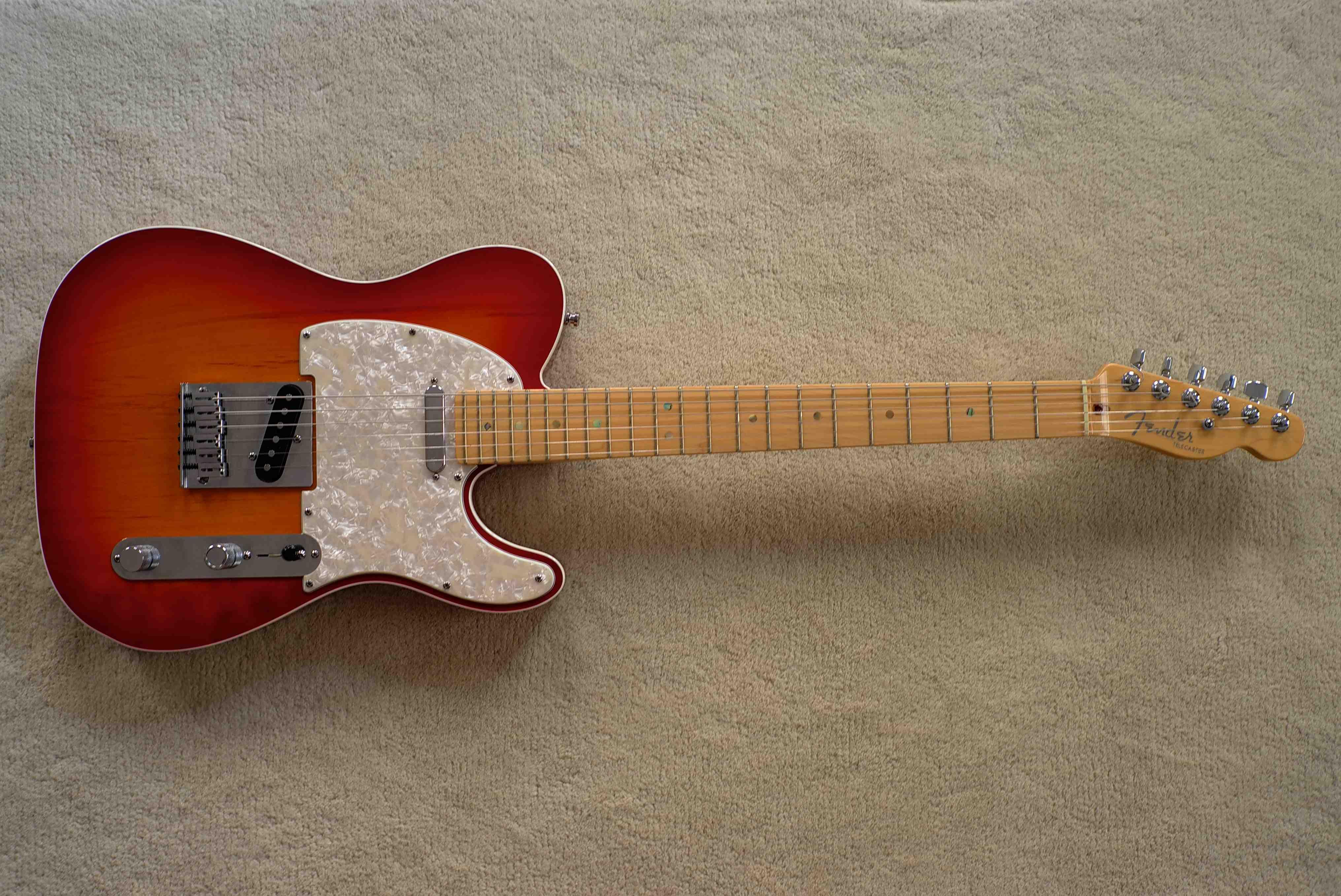 American Deluxe Telecaster Cherry Burst | Guitars ...
