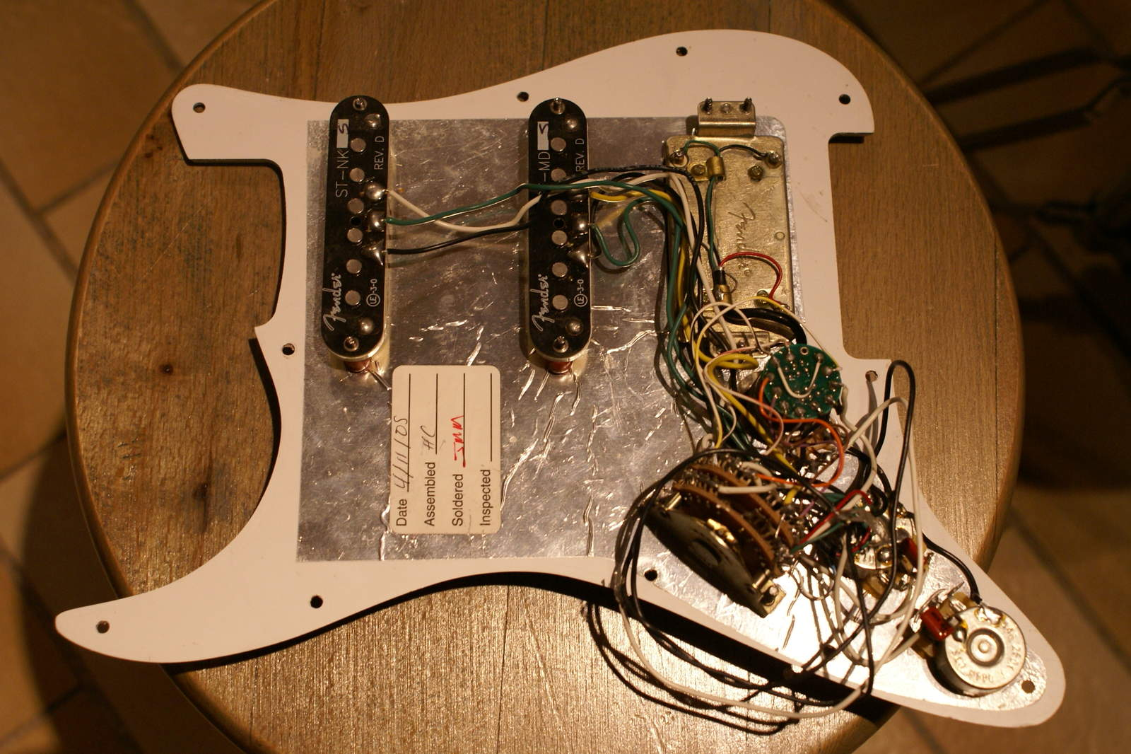 Fender Deluxe Wiring   Luthier