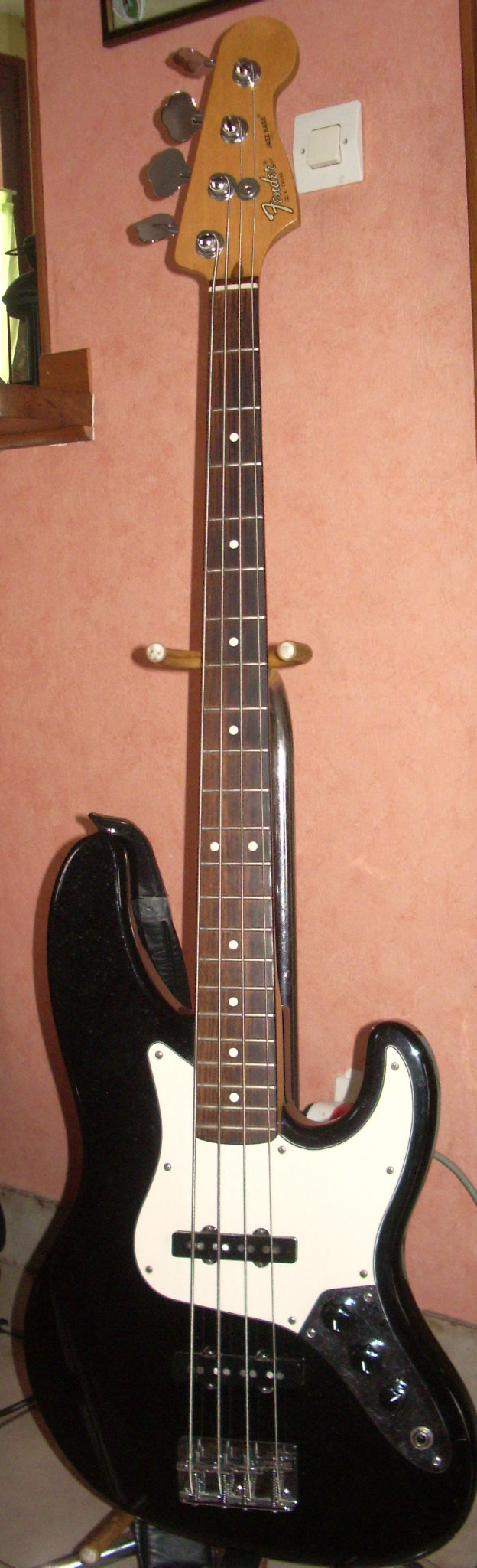 photo fender american standard jazz bass 1989 1994. Black Bedroom Furniture Sets. Home Design Ideas