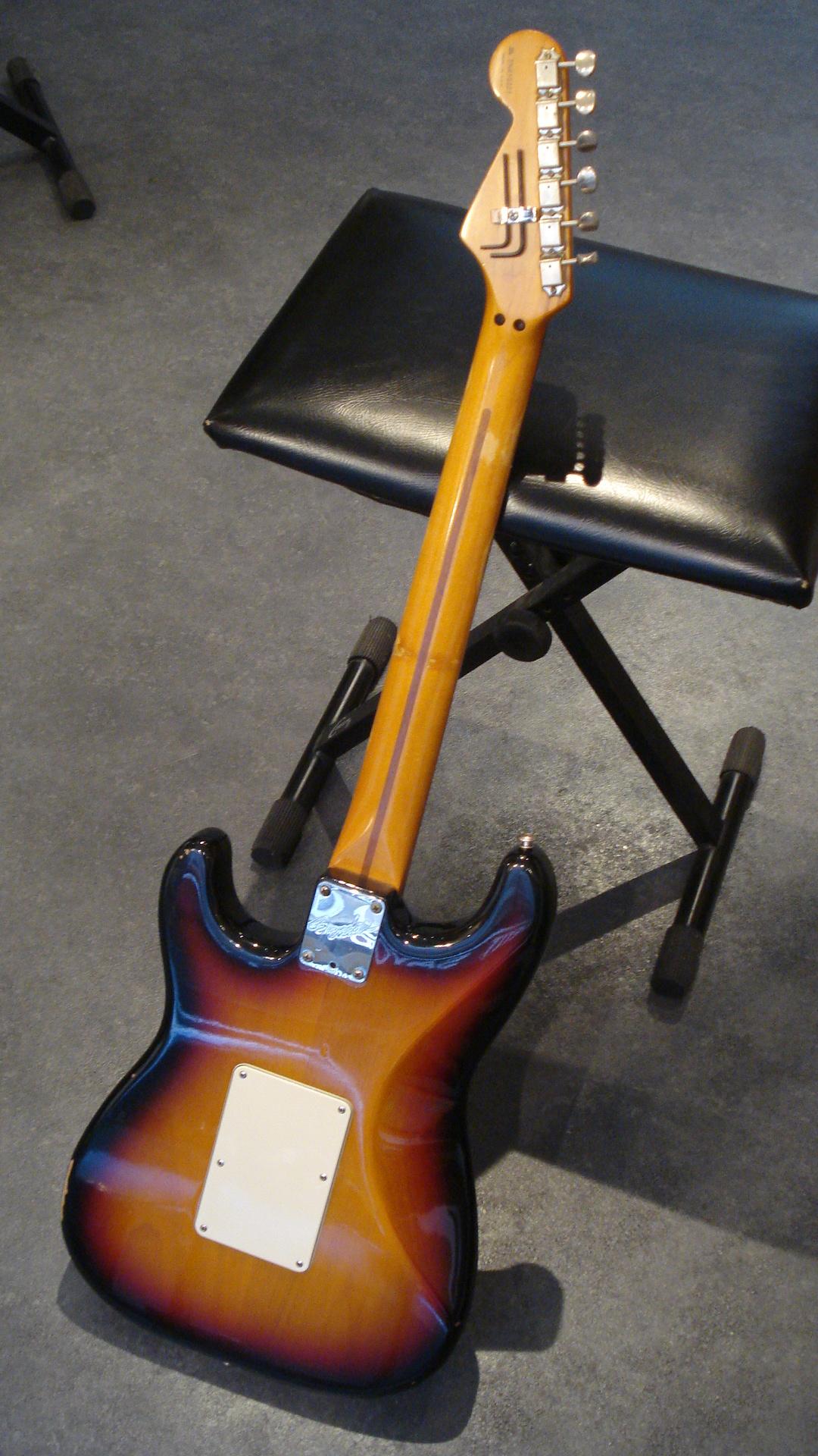 American Standard Stratocaster Hss Floyd Rose 1994 Fender