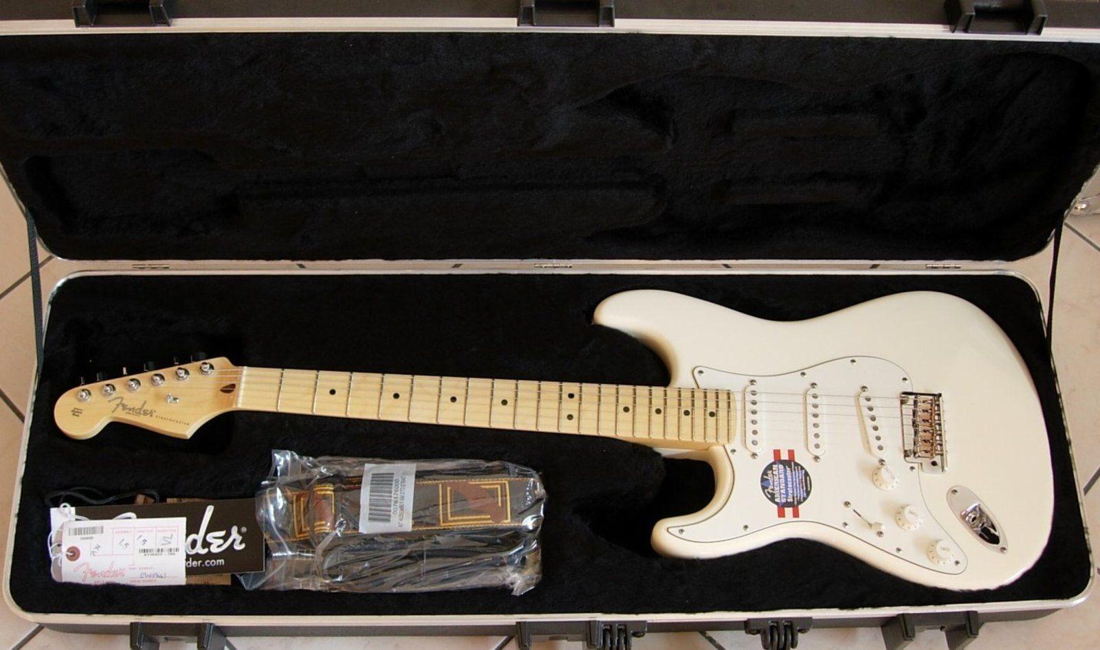 Lefty Fender American Standard Strat Best 2018 Wiring Diagram Stratocaster Candy Cola Rosewood Left