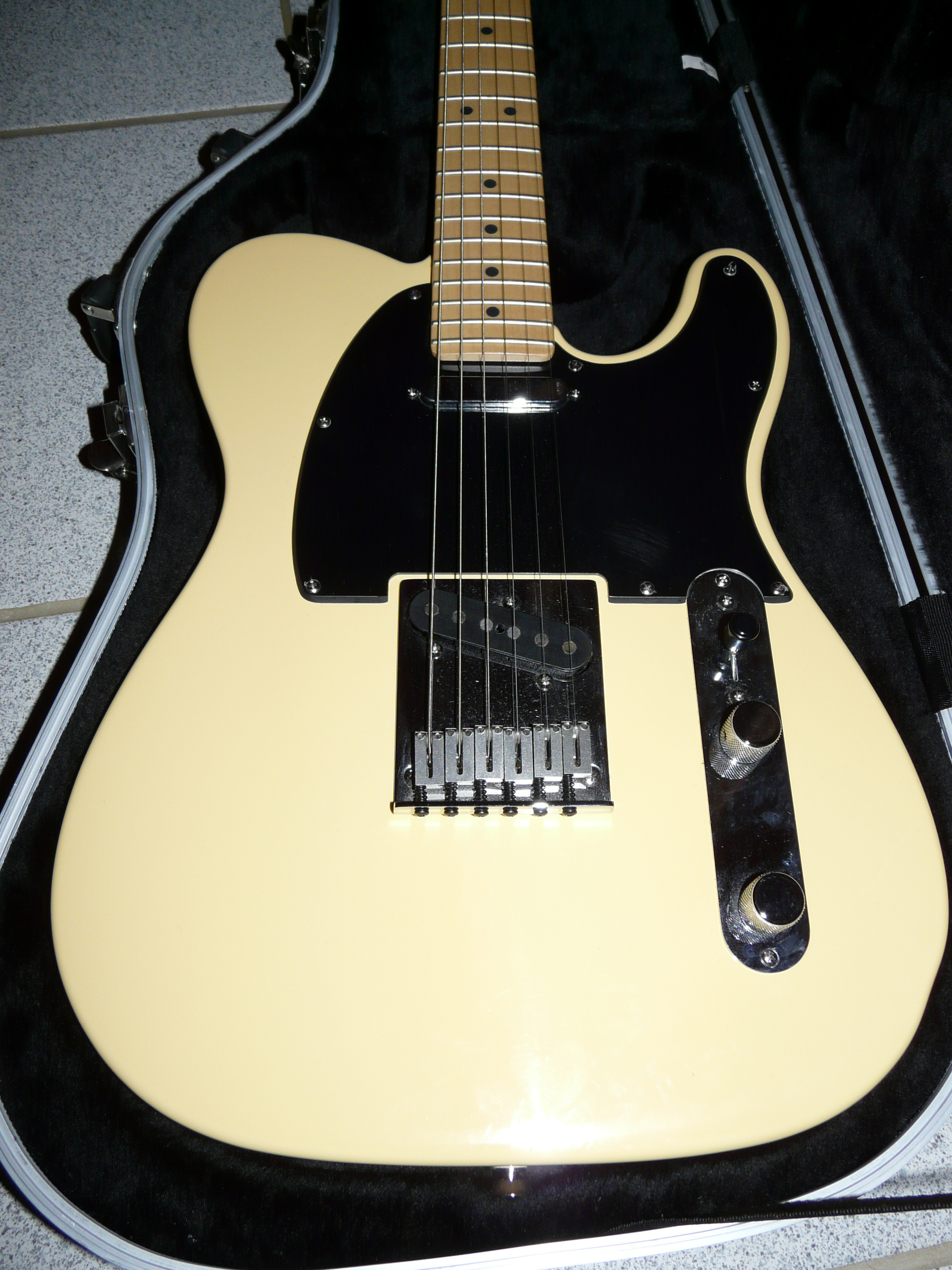 American standard telecaster vintage white necessary words