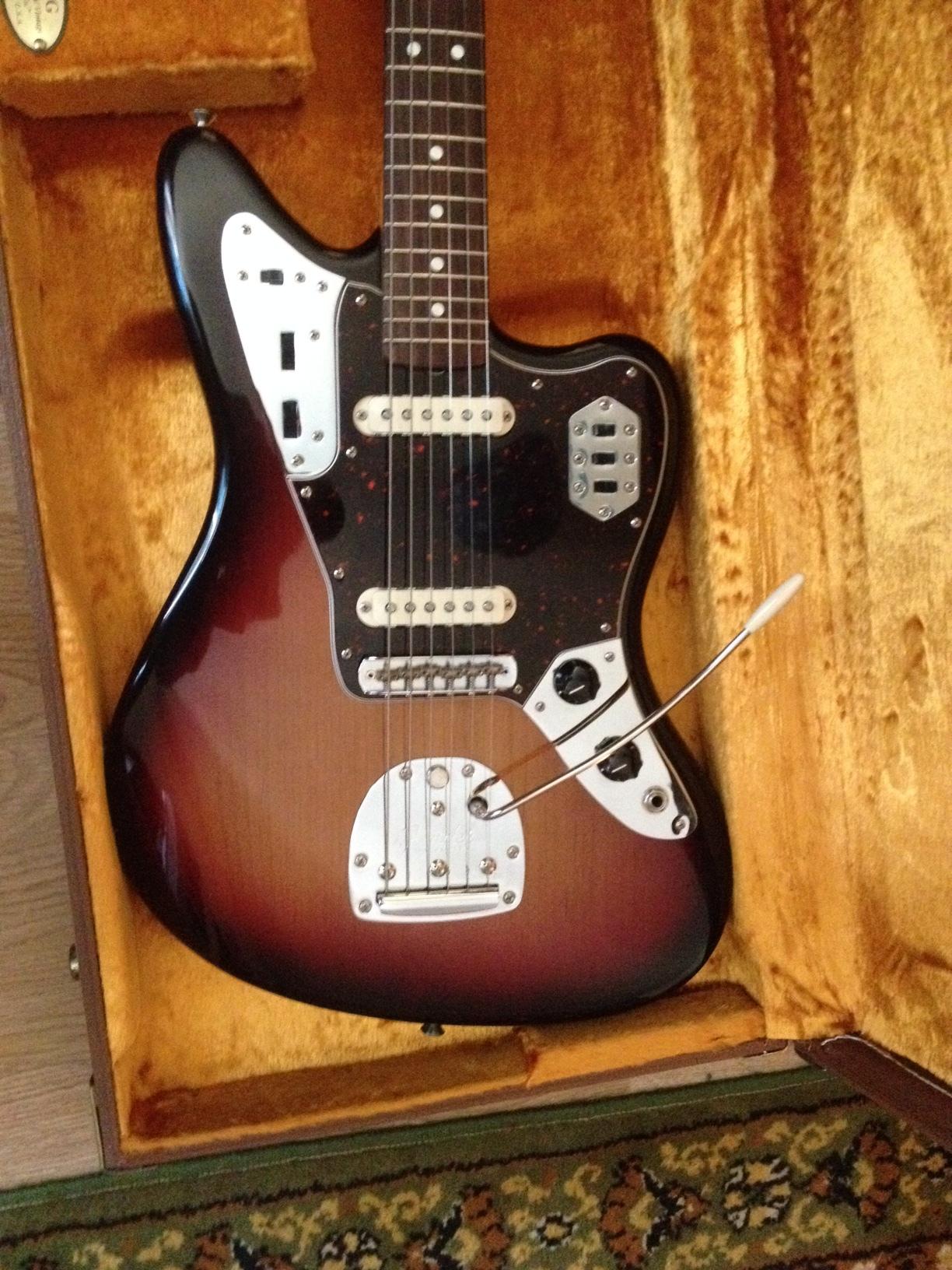 Fender vintage jaguar and too