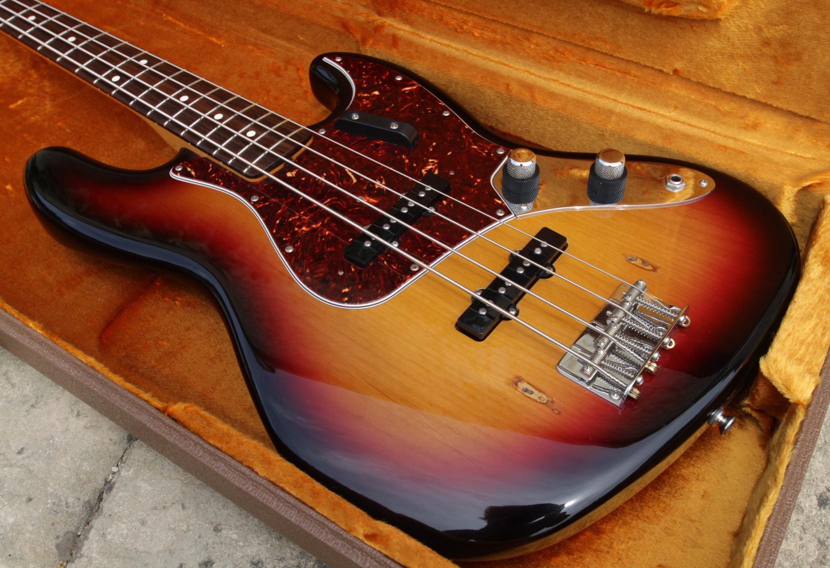 jazz bass vintage fender