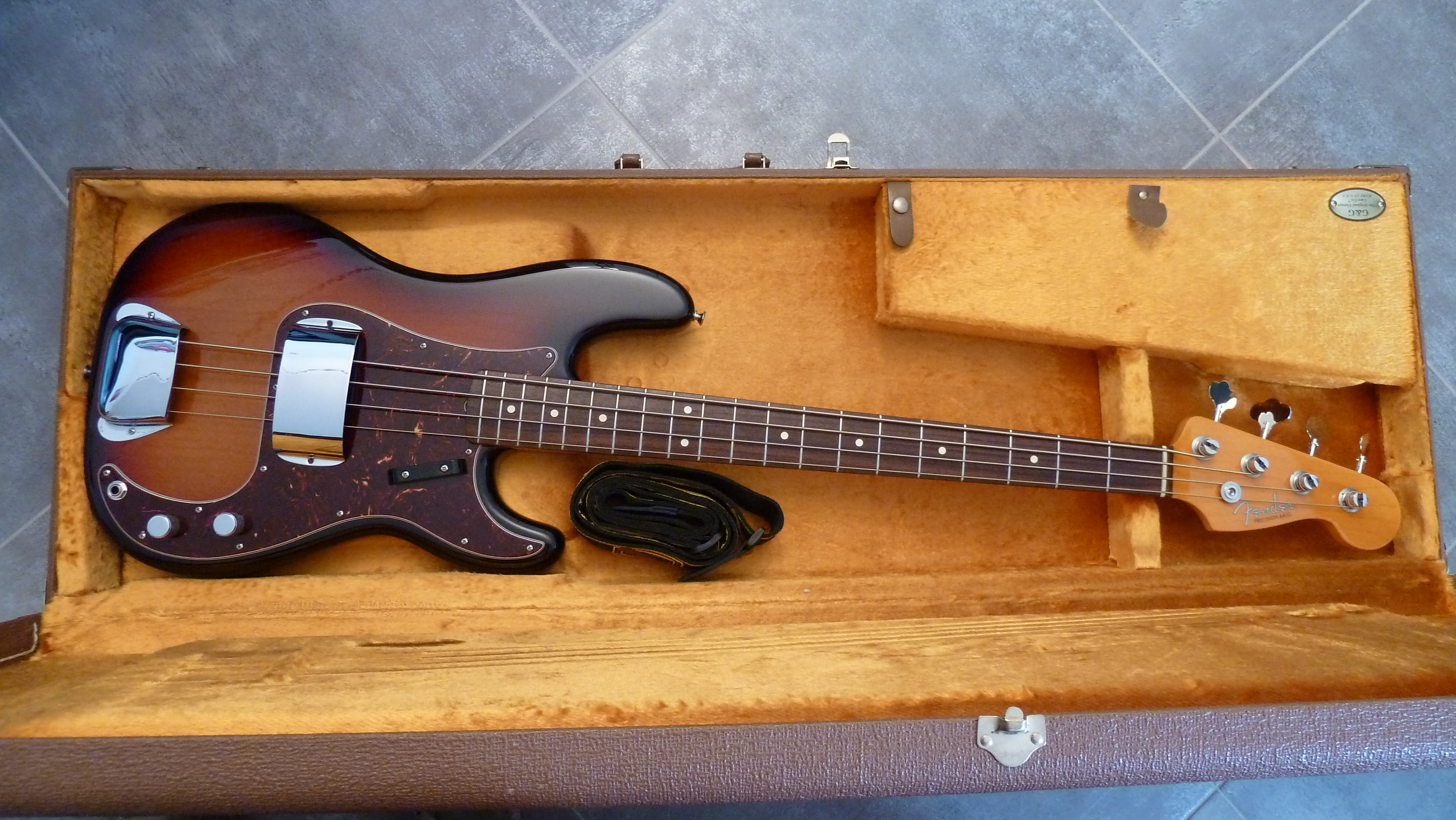 fender american vintage 39 62 precision bass image 864929 audiofanzine. Black Bedroom Furniture Sets. Home Design Ideas
