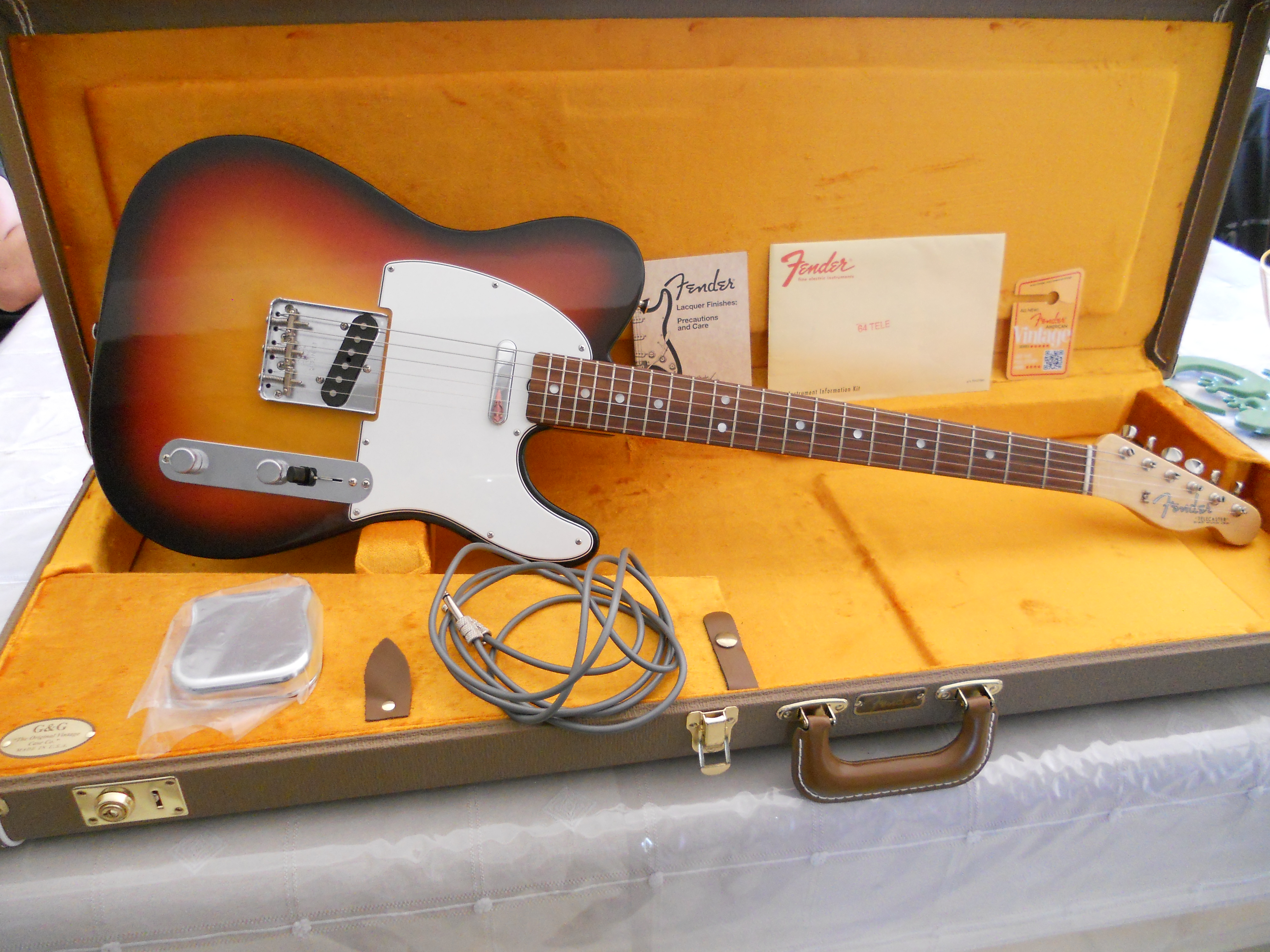 fender american vintage 39 64 telecaster image 1052696 audiofanzine. Black Bedroom Furniture Sets. Home Design Ideas