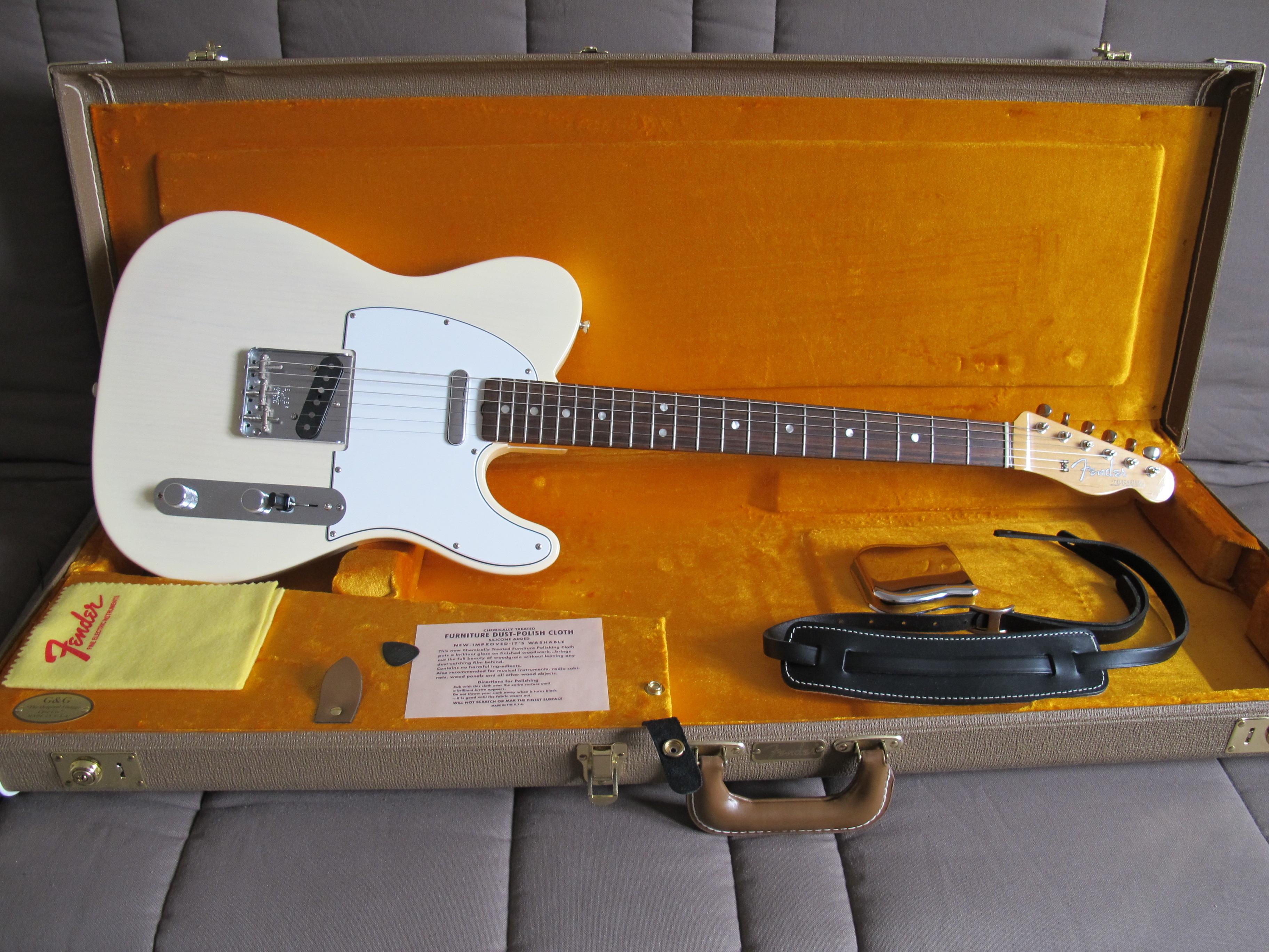 Fender américain vintage telecaster