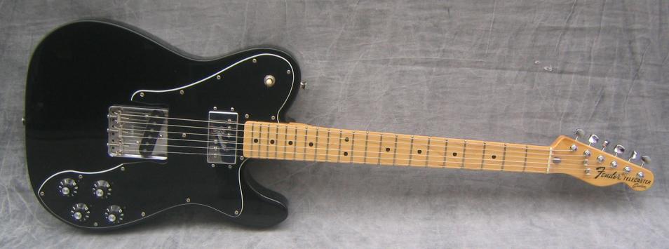 vintage telecaster custom