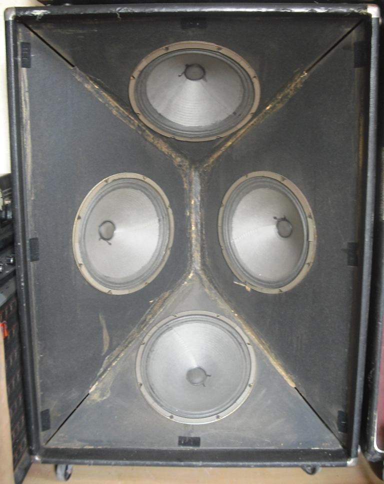 Fender Bassman 100 4x12 (Silverface) image (#345093) - Audiofanzine