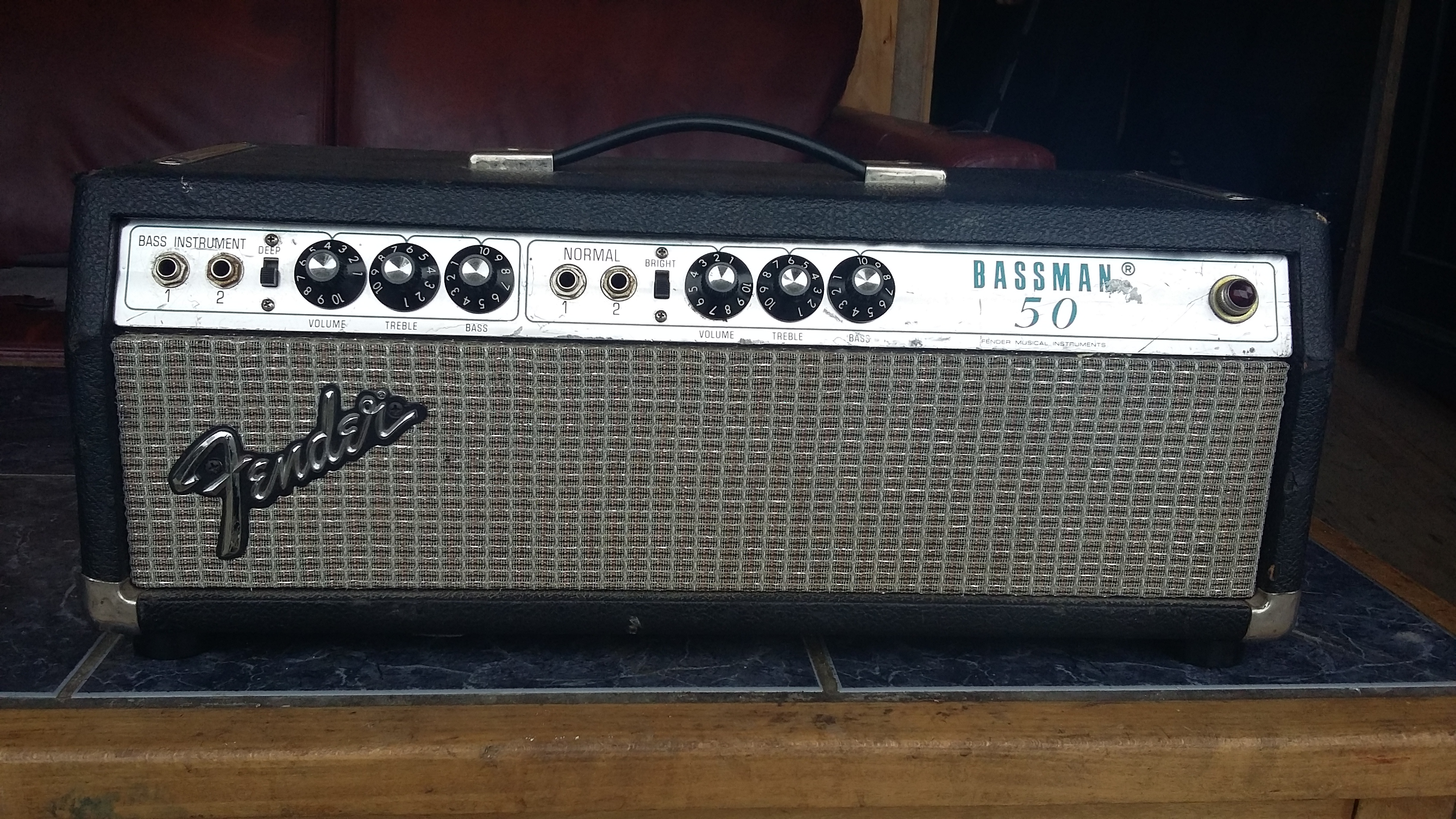 Dating silverface bassman 50