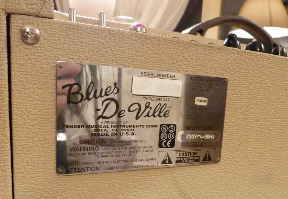 fender blues deville 410 reissue image 546712 audiofanzine. Black Bedroom Furniture Sets. Home Design Ideas