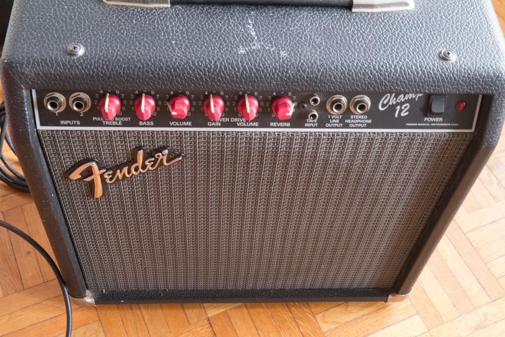 Fender champ analysis essay