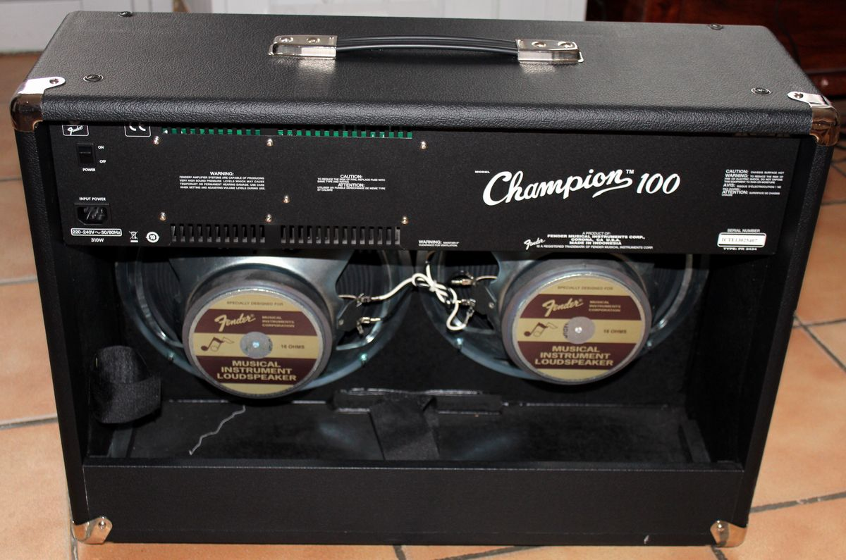 fender champion 100 image 932137 audiofanzine. Black Bedroom Furniture Sets. Home Design Ideas