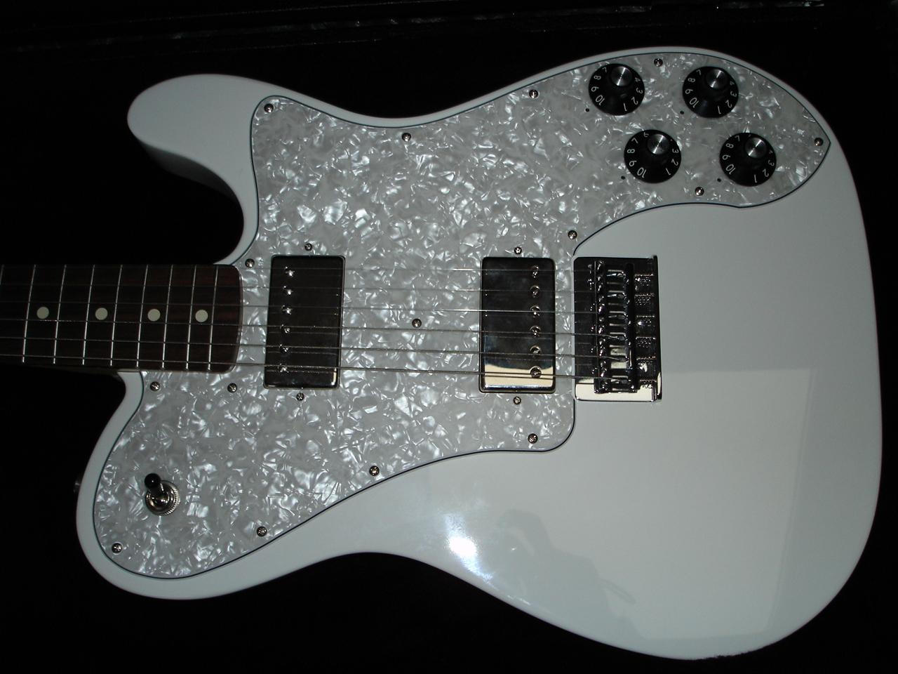 Fender Chris Shiflett Telecaster Deluxe - Arctic White ...