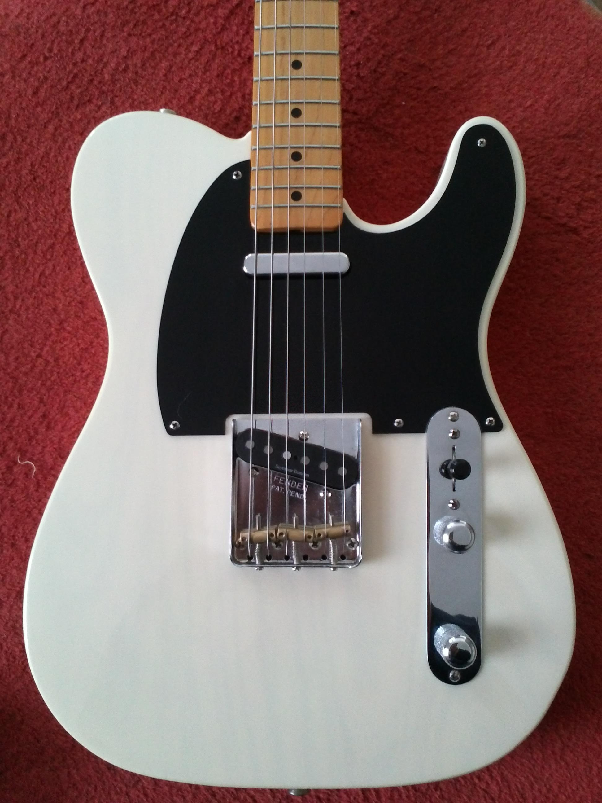 fender classic 50 39 s telecaster white blond image 388333 audiofanzine. Black Bedroom Furniture Sets. Home Design Ideas