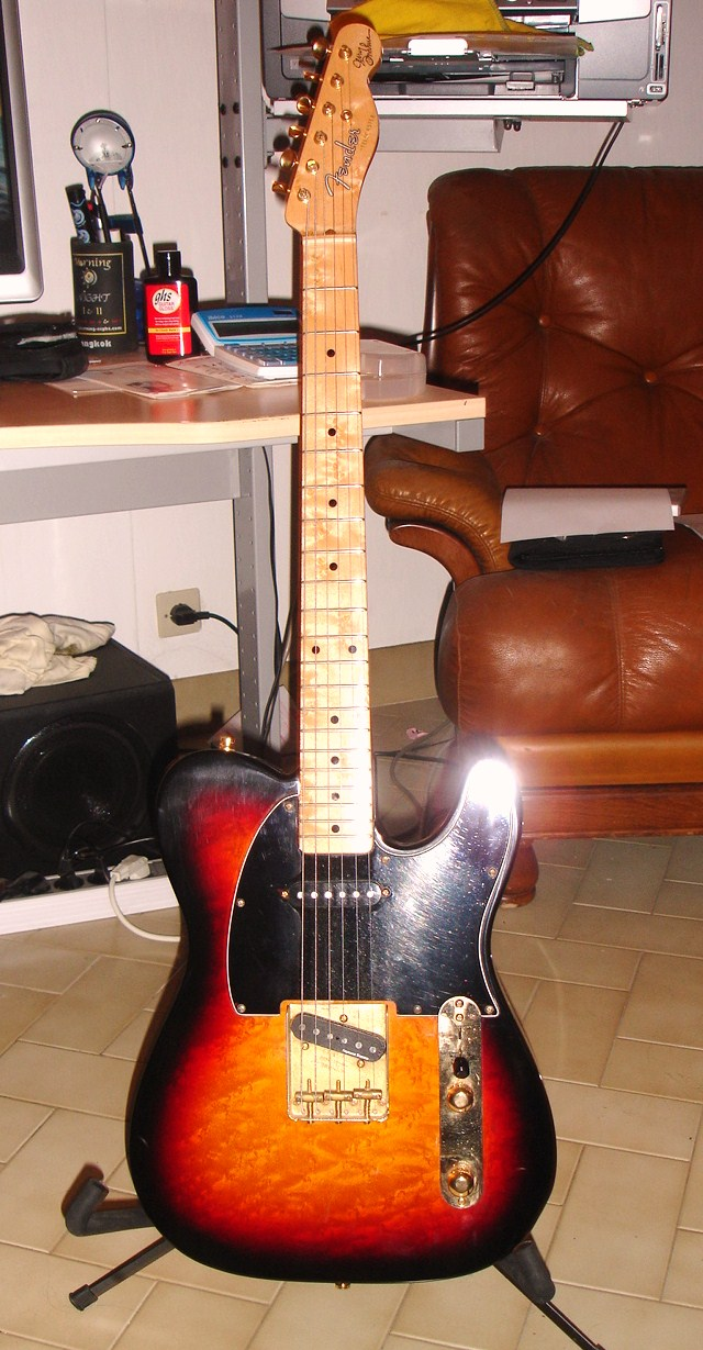 Fender Custom Shop Jerry Donahue Telecaster Wiring Diagram Audiofanzine 640x1229