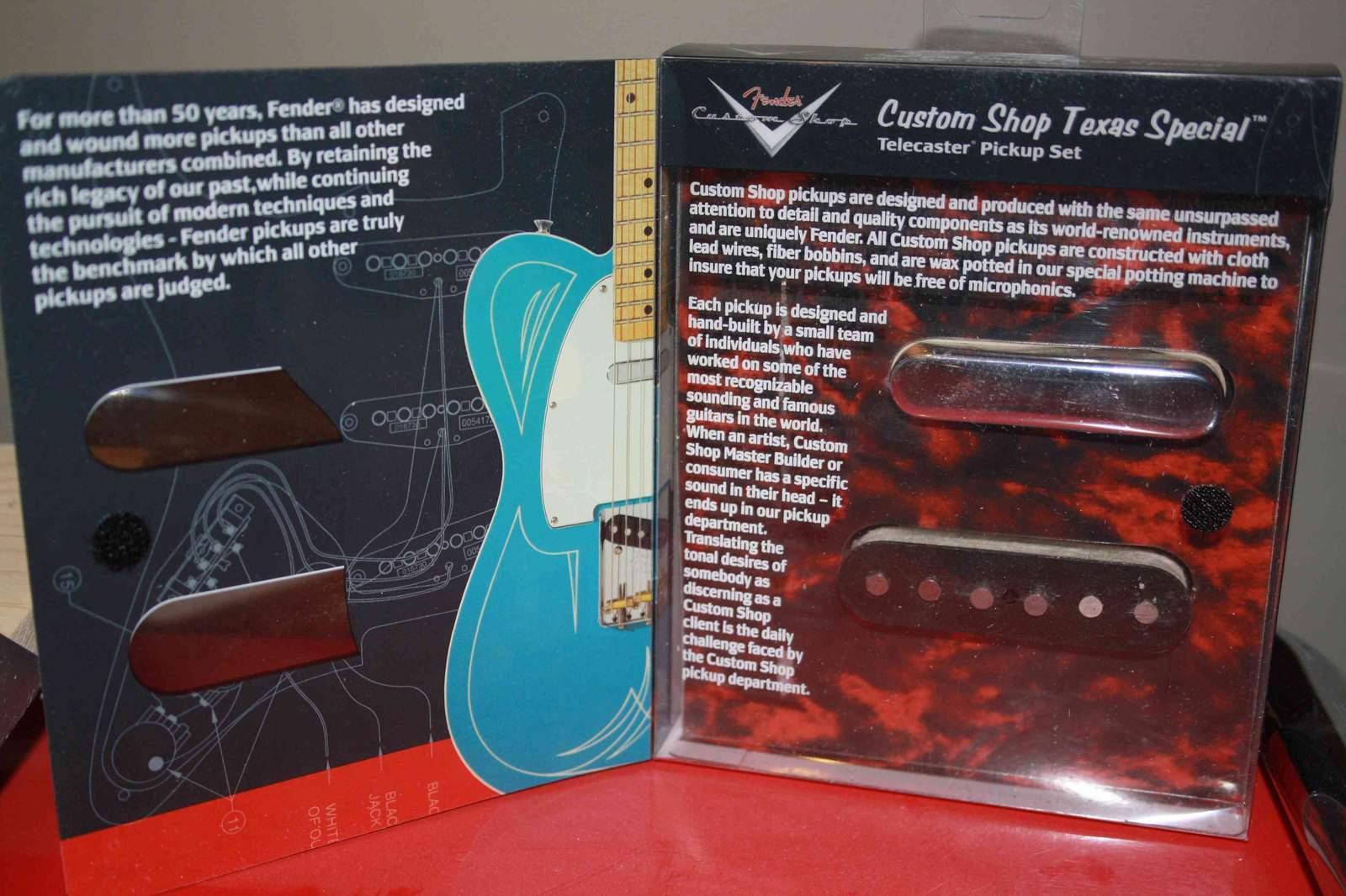 fender custom shop texas special telecaster pickups image 160983 audiofanzine. Black Bedroom Furniture Sets. Home Design Ideas