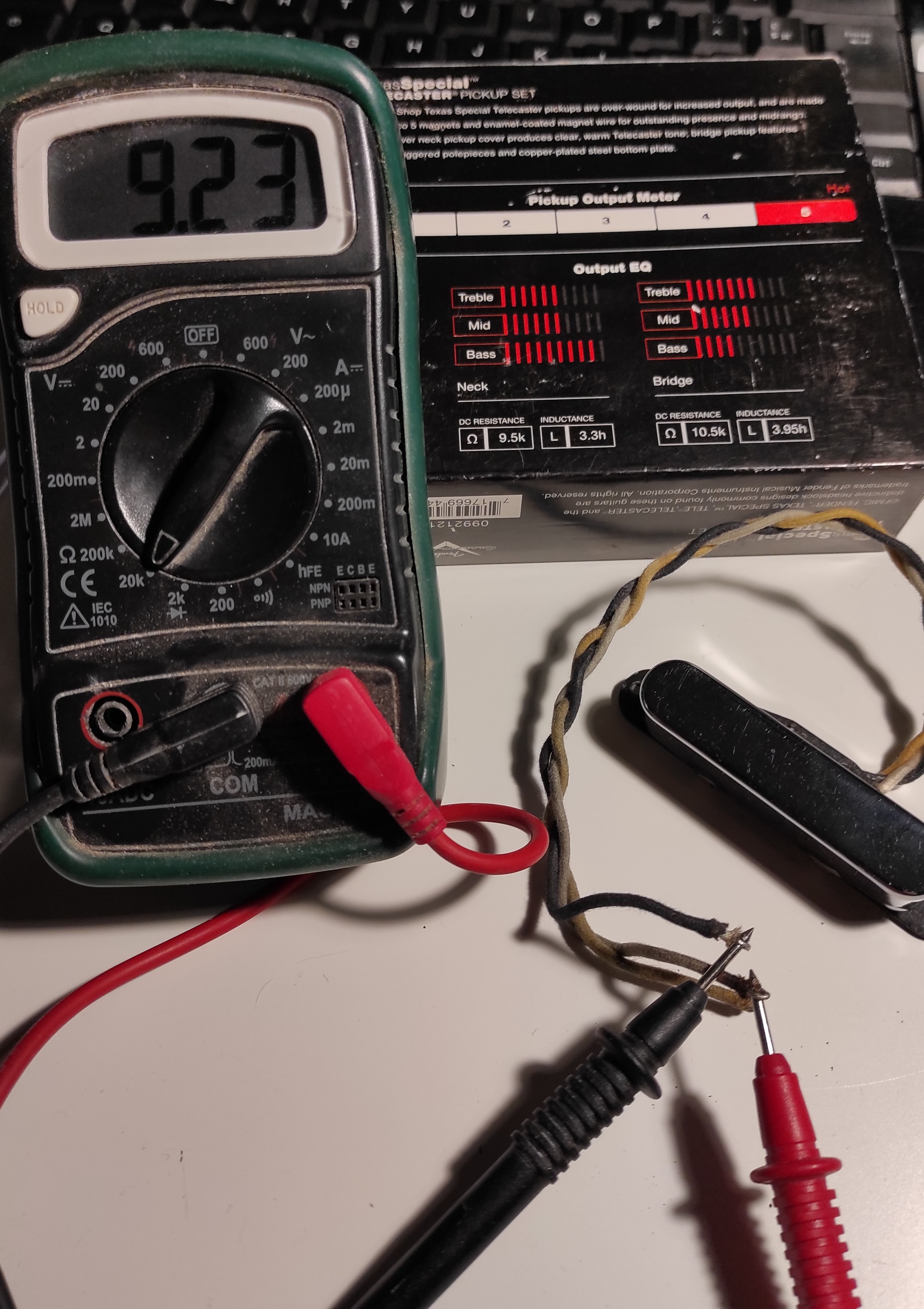 Custom Shop Texas Special Telecaster Pickups