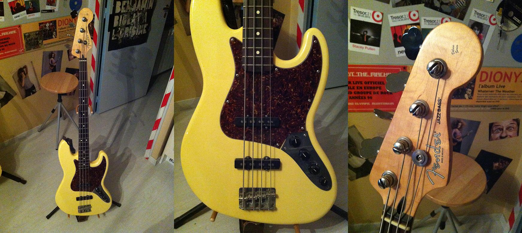 Vends fender jazz bass deluxe mexique active vintage for Haute normandie active