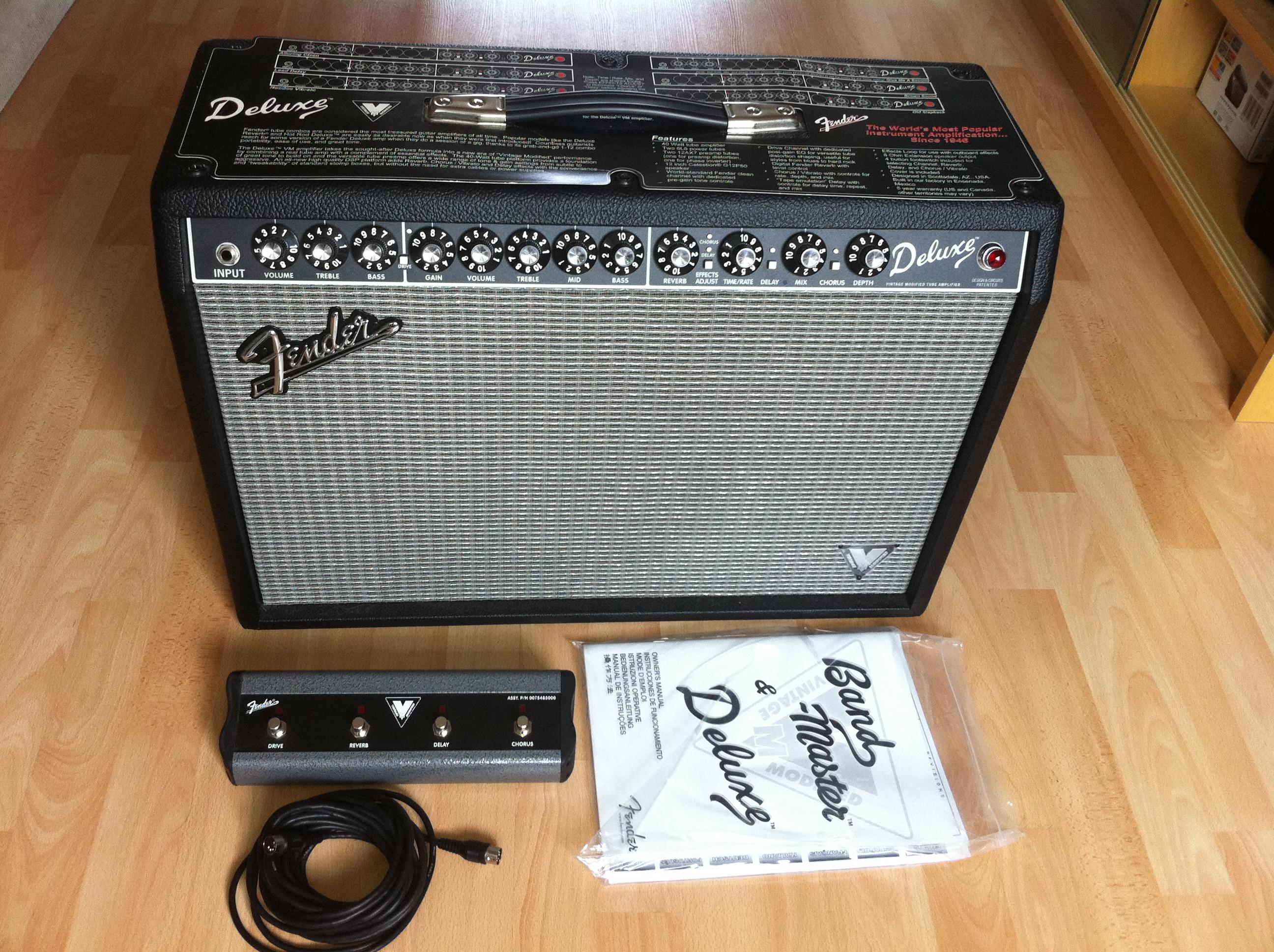 fender deluxe vm image 269477 audiofanzine rh en audiofanzine com Fender Deluxe VM PCB Fender Deluxe VM PCB