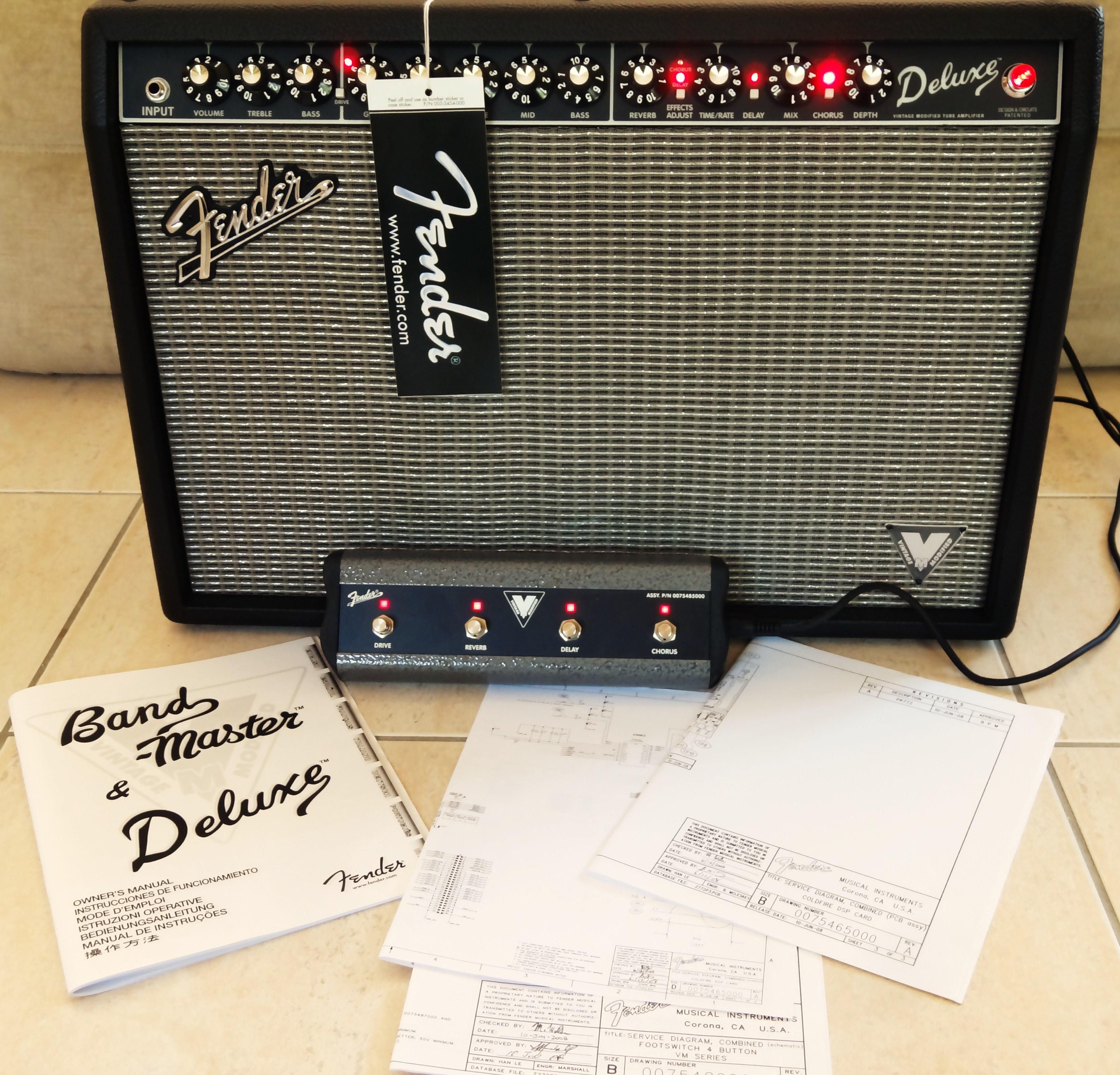 fender deluxe vm image 865882 audiofanzine rh en audiofanzine com Fender Vintage Modified Deluxe Fender VM Deluxe Mods
