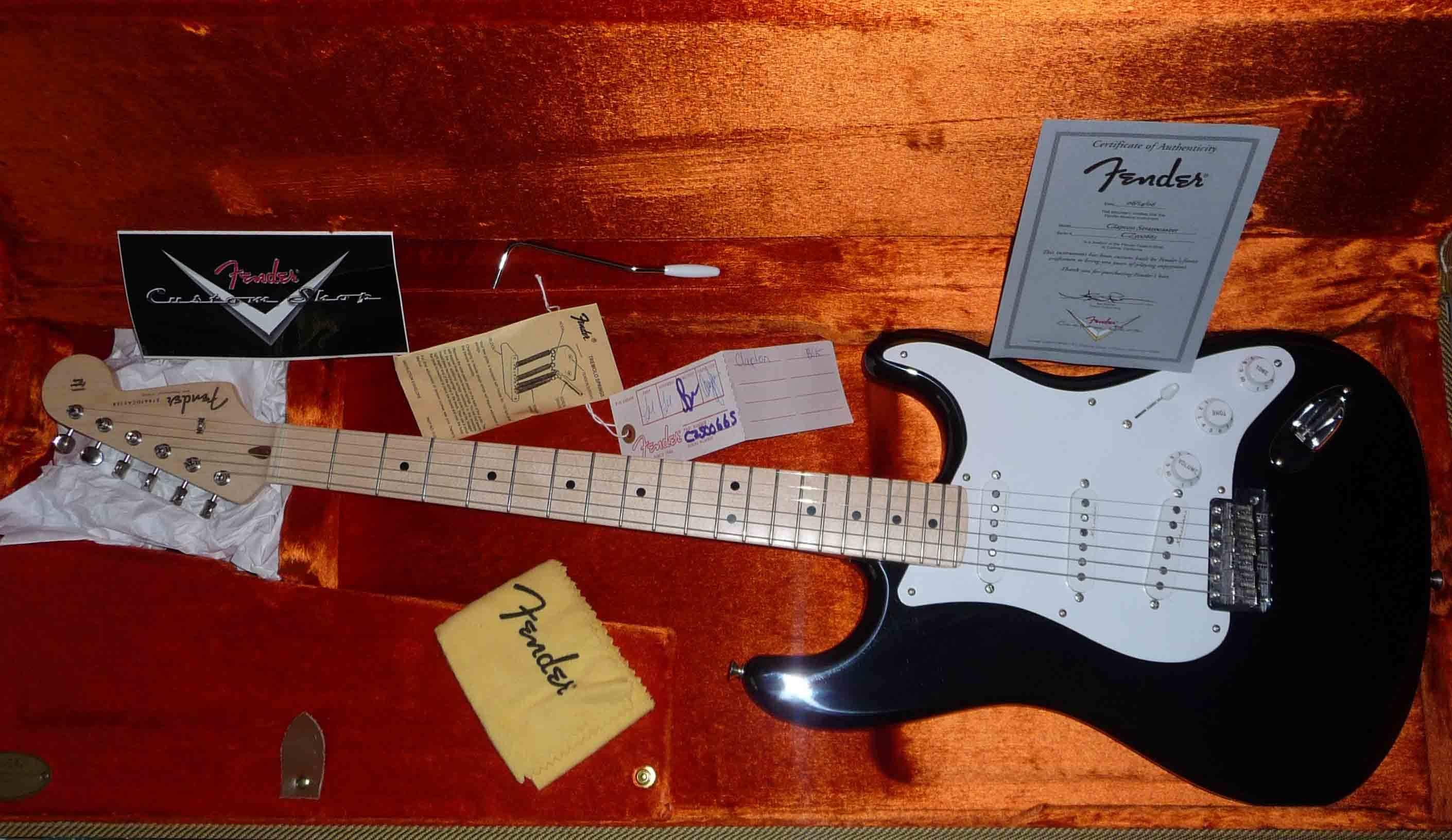 fender eric clapton signature stratocaster image 121941 audiofanzine. Black Bedroom Furniture Sets. Home Design Ideas