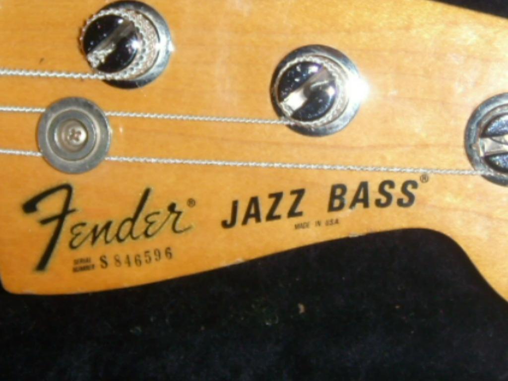 fender jazz bass 1978 image 92378 audiofanzine