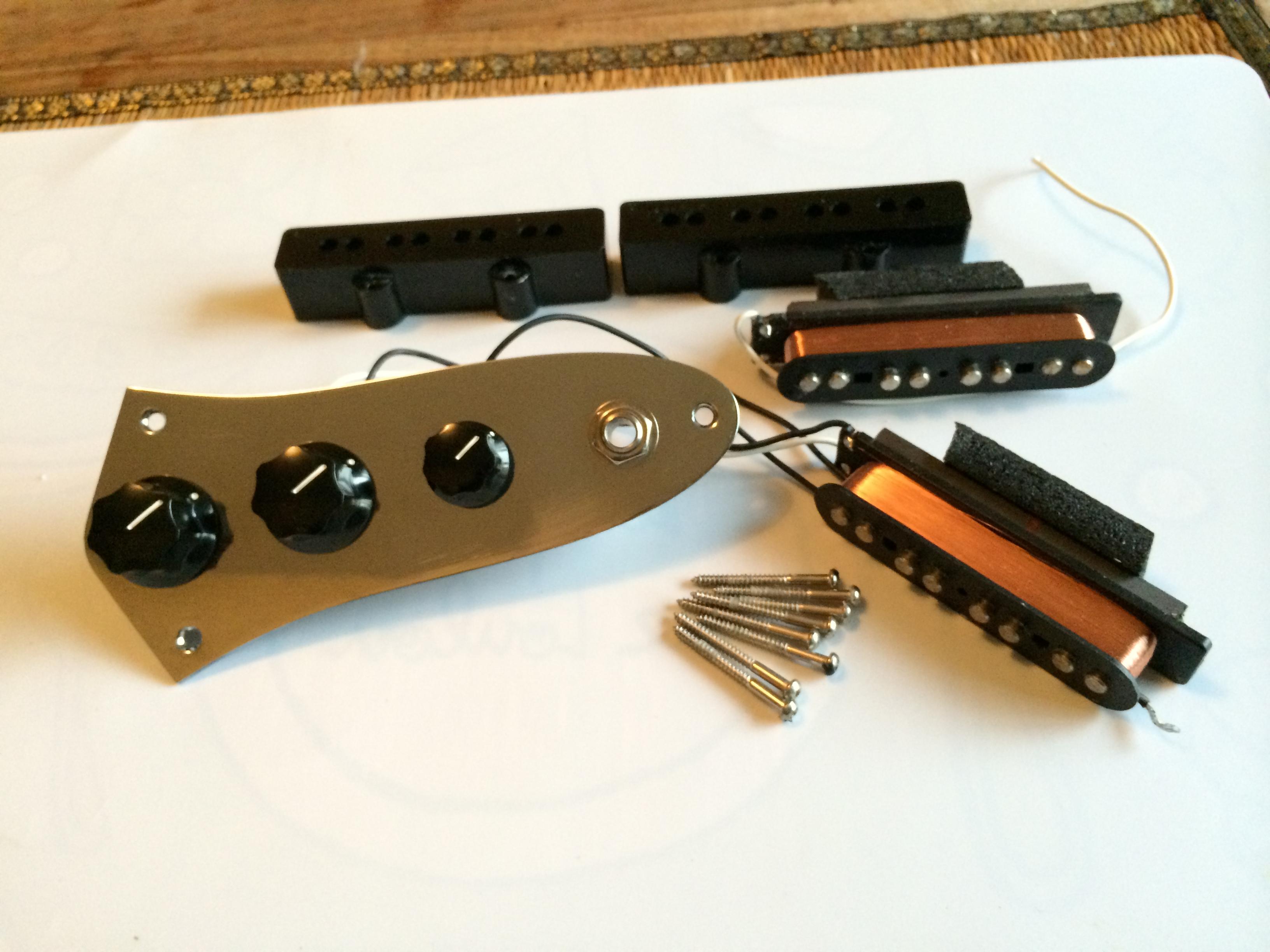 fender jazz bass pickups set image 718482 audiofanzine. Black Bedroom Furniture Sets. Home Design Ideas