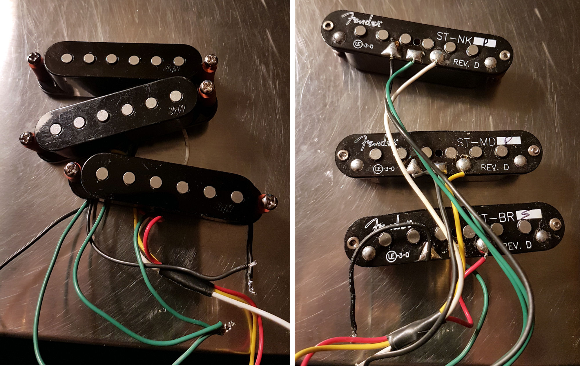 Fender Vintage Noiseless Pickups Best 2018 Wiring Diagram