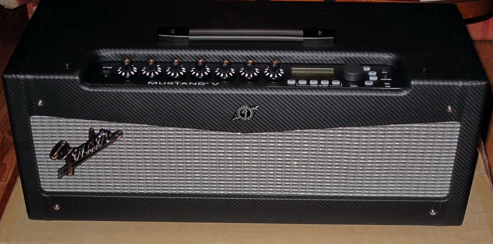 Fender Mustang V Head Image 214616 Audiofanzine