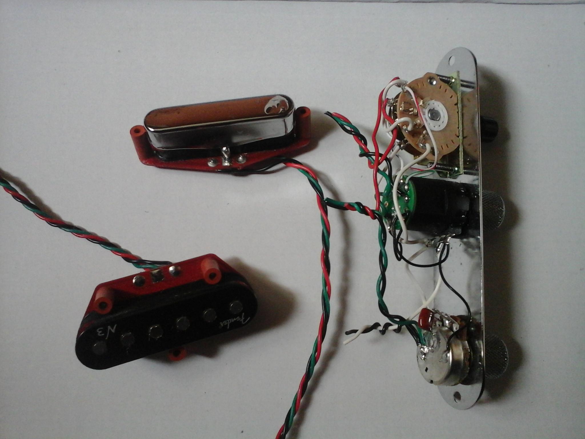 Wiring Diagram For Fender Noiseless Pickups : Fender tex mex pickup wiring diagram stratocaster
