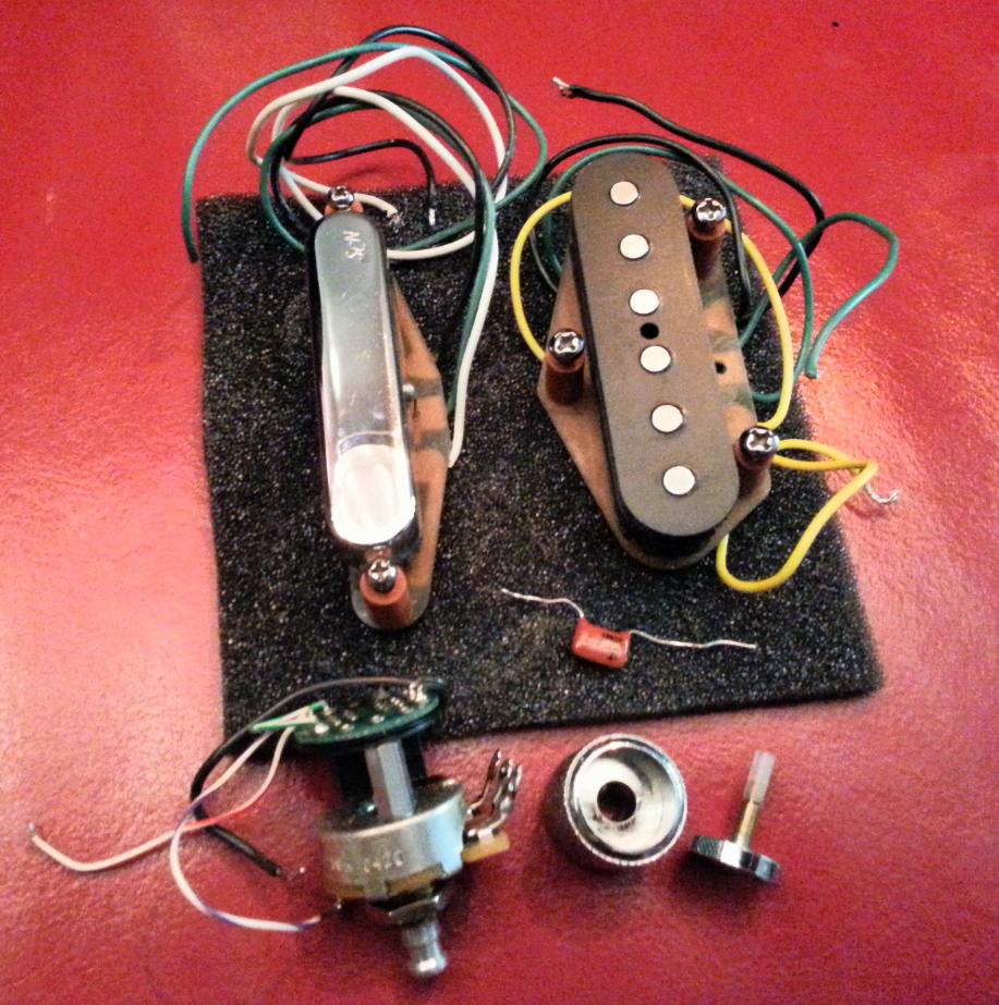 Fender N3 Noiseless Tele Pickups Set Image   750799