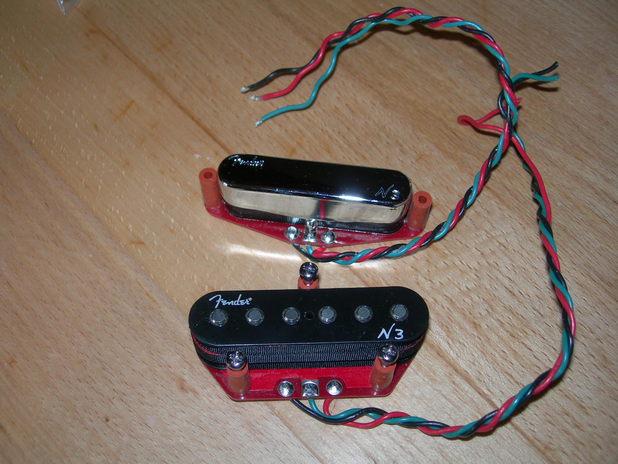 Fender N3 Noiseless Pickups Wiring Diagram - Merzie.net
