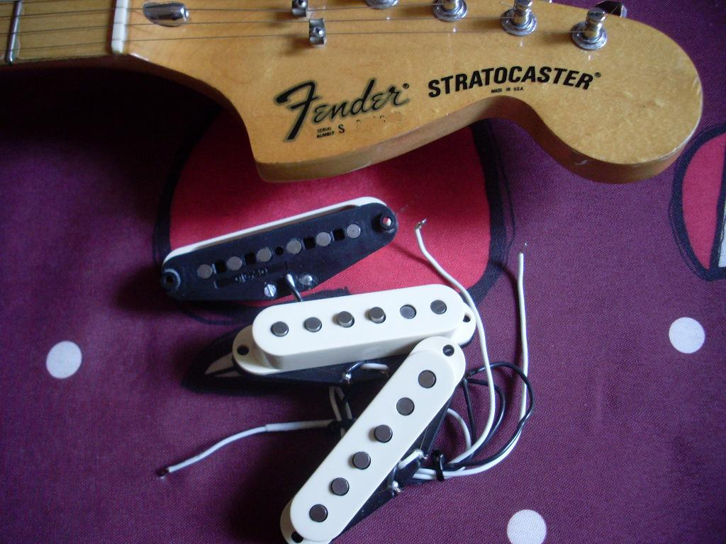 Fender Pickup Micro Humbucker Single Coil Image