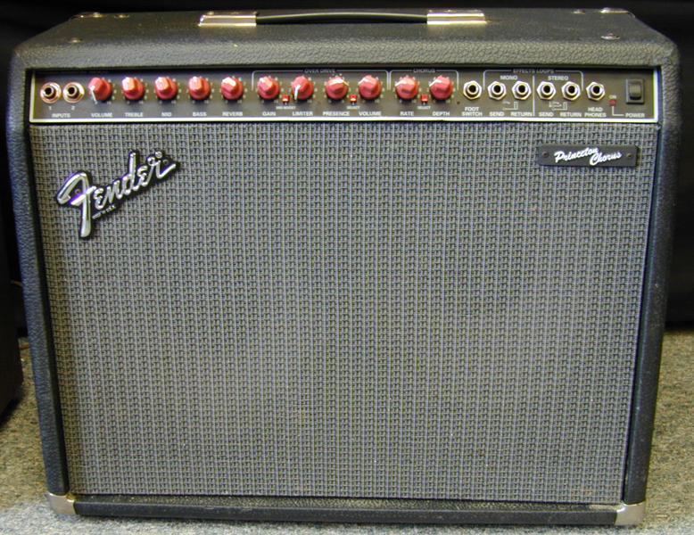 Fender Princeton Chorus Amplifier Combo Vinyl Amp Cover