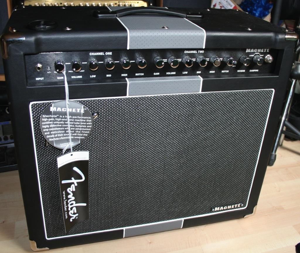 Fender Machete Review There Will Be Blood Audiofanzine