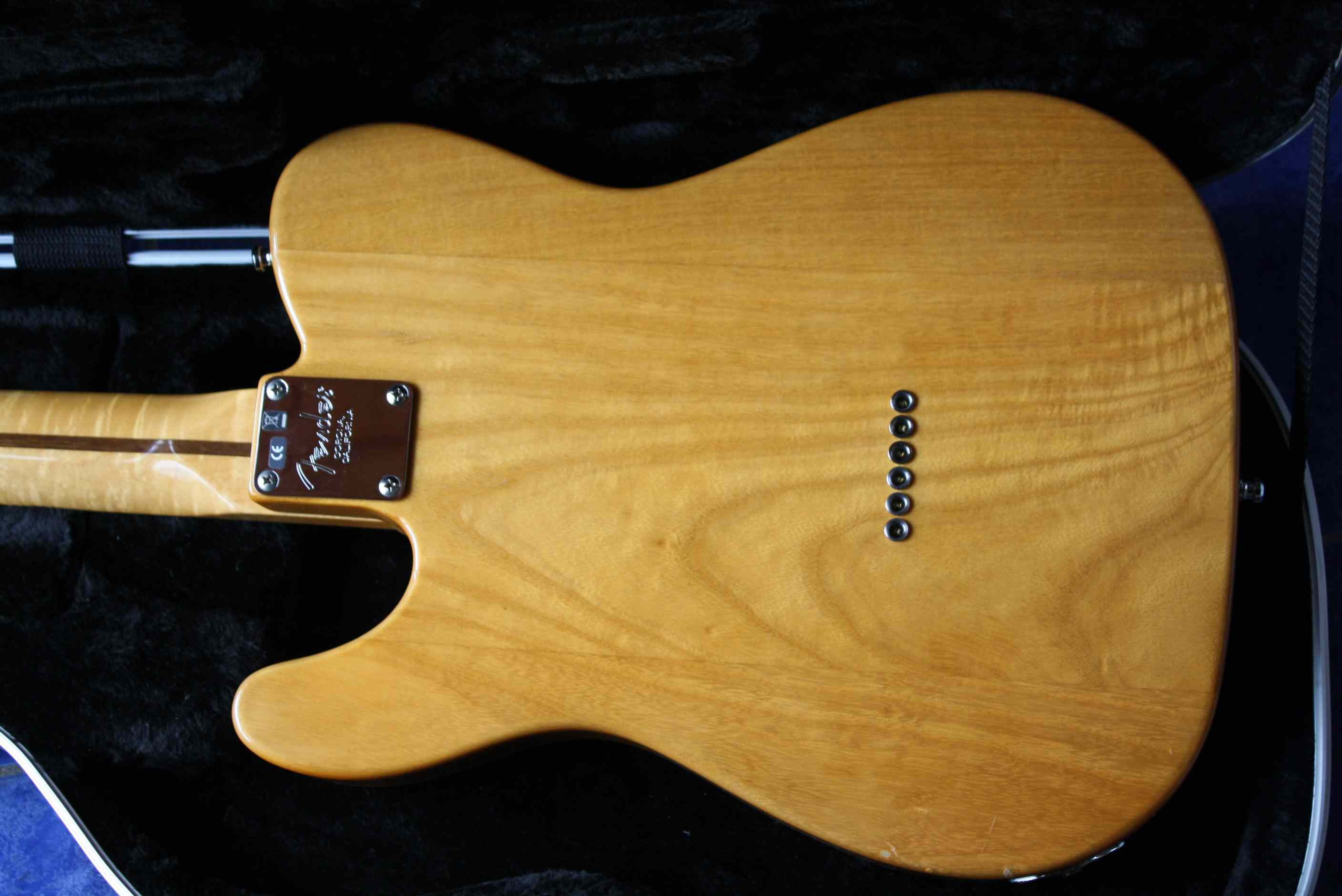 Fender select carved maple top telecaster image
