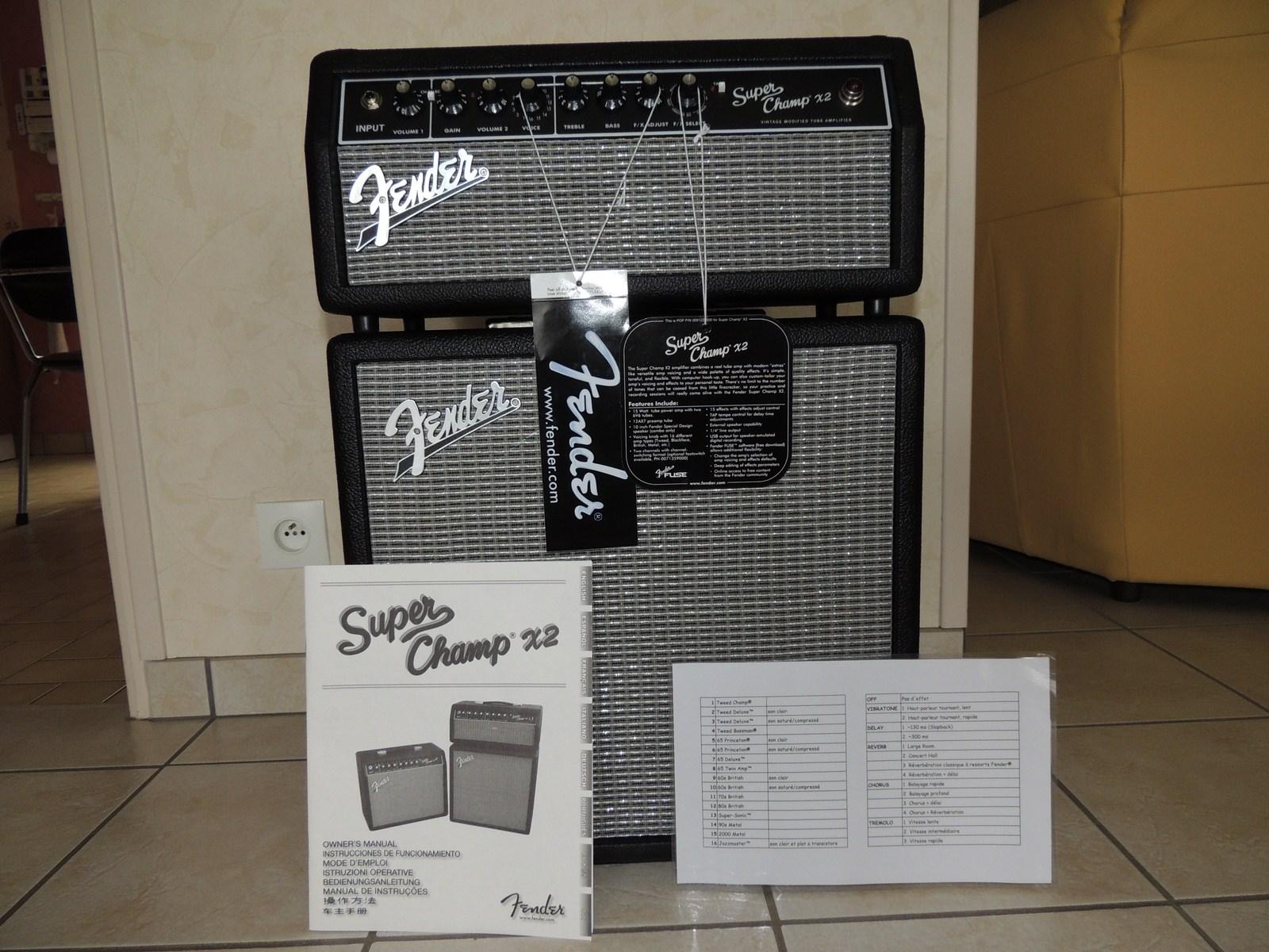Fender Super Champ X2 Head Review : fender super champ x2 head image 535839 audiofanzine ~ Russianpoet.info Haus und Dekorationen
