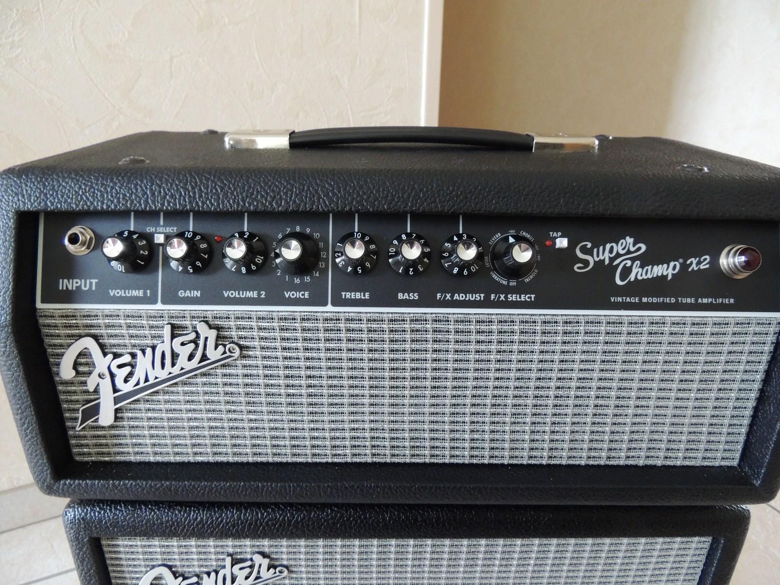 Fender Super Champ X2 Head Review : fender super champ x2 head image 535843 audiofanzine ~ Russianpoet.info Haus und Dekorationen