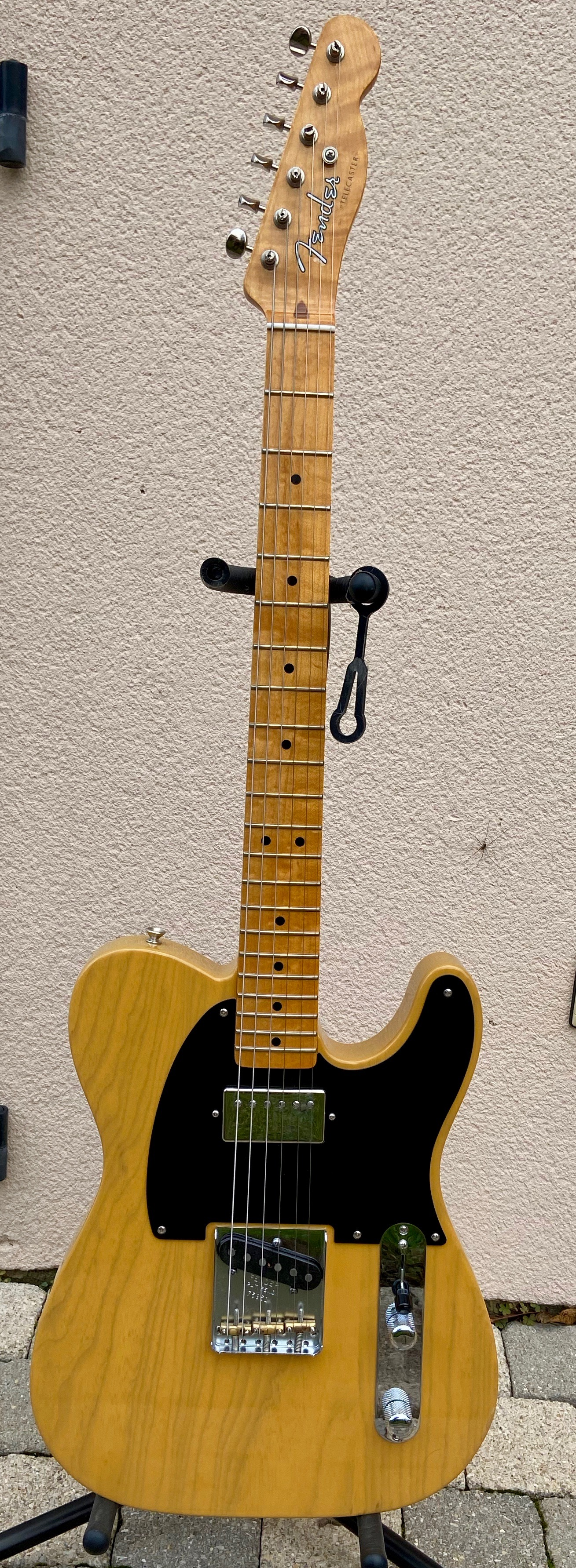hipótesis Paloma María  Tele-Bration Vintage Hot Rod '52 Telecaster Fender - Audiofanzine