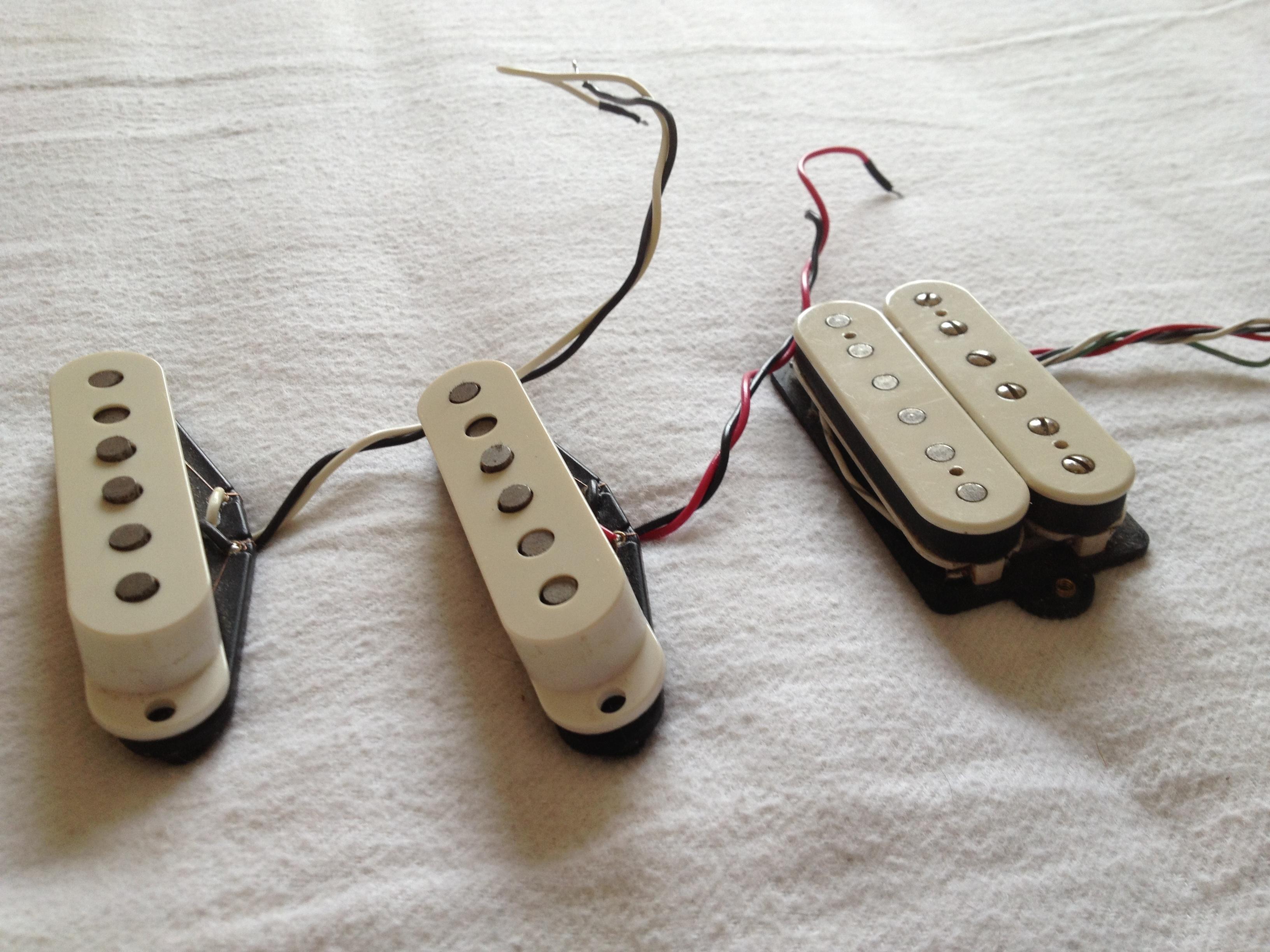 Fender Tex-mex Strat Pickups Image   709246