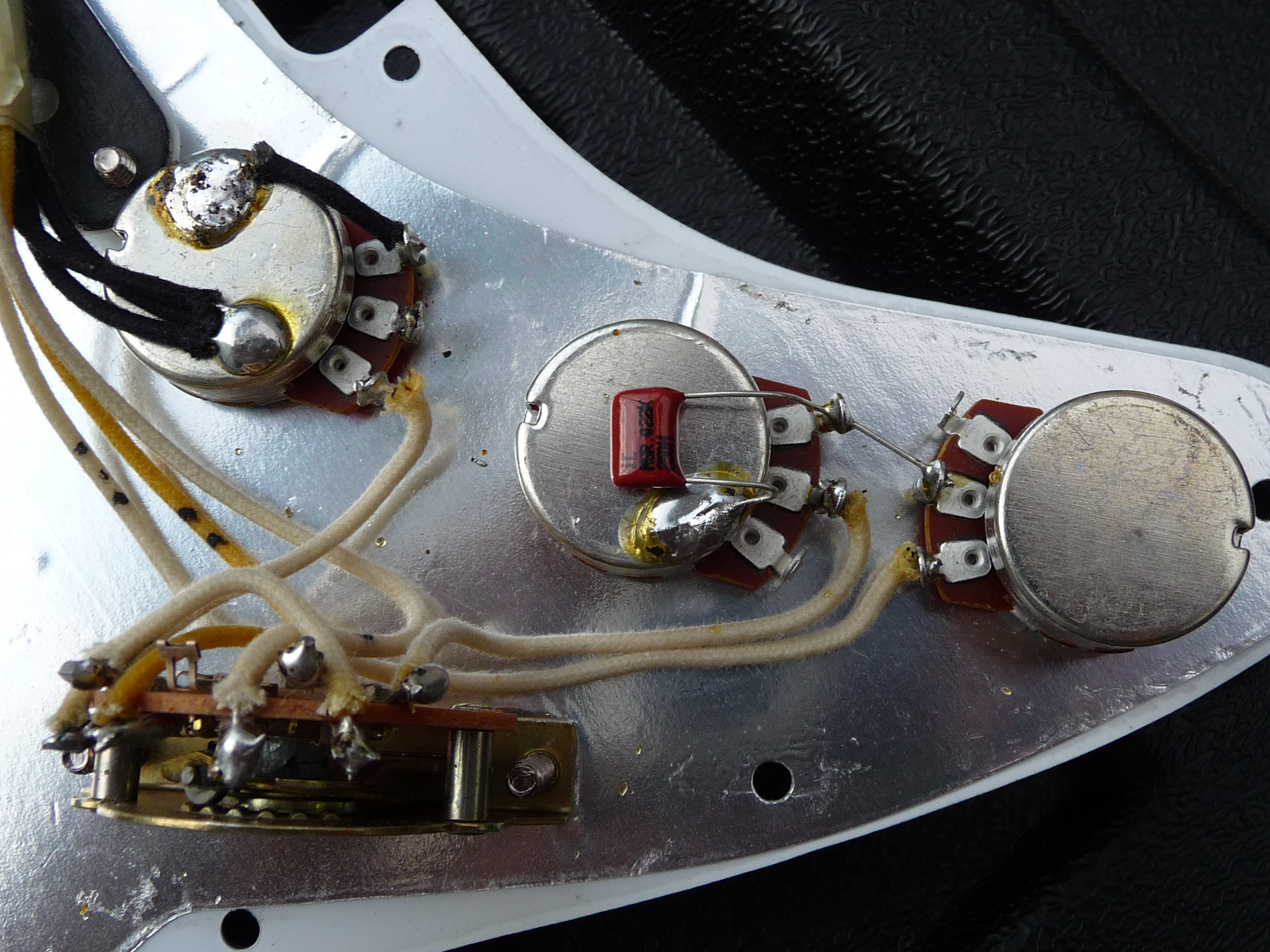 Strat Wiring Diagram Grease Bucket For Professional Stratocaster Fender Tone Controls