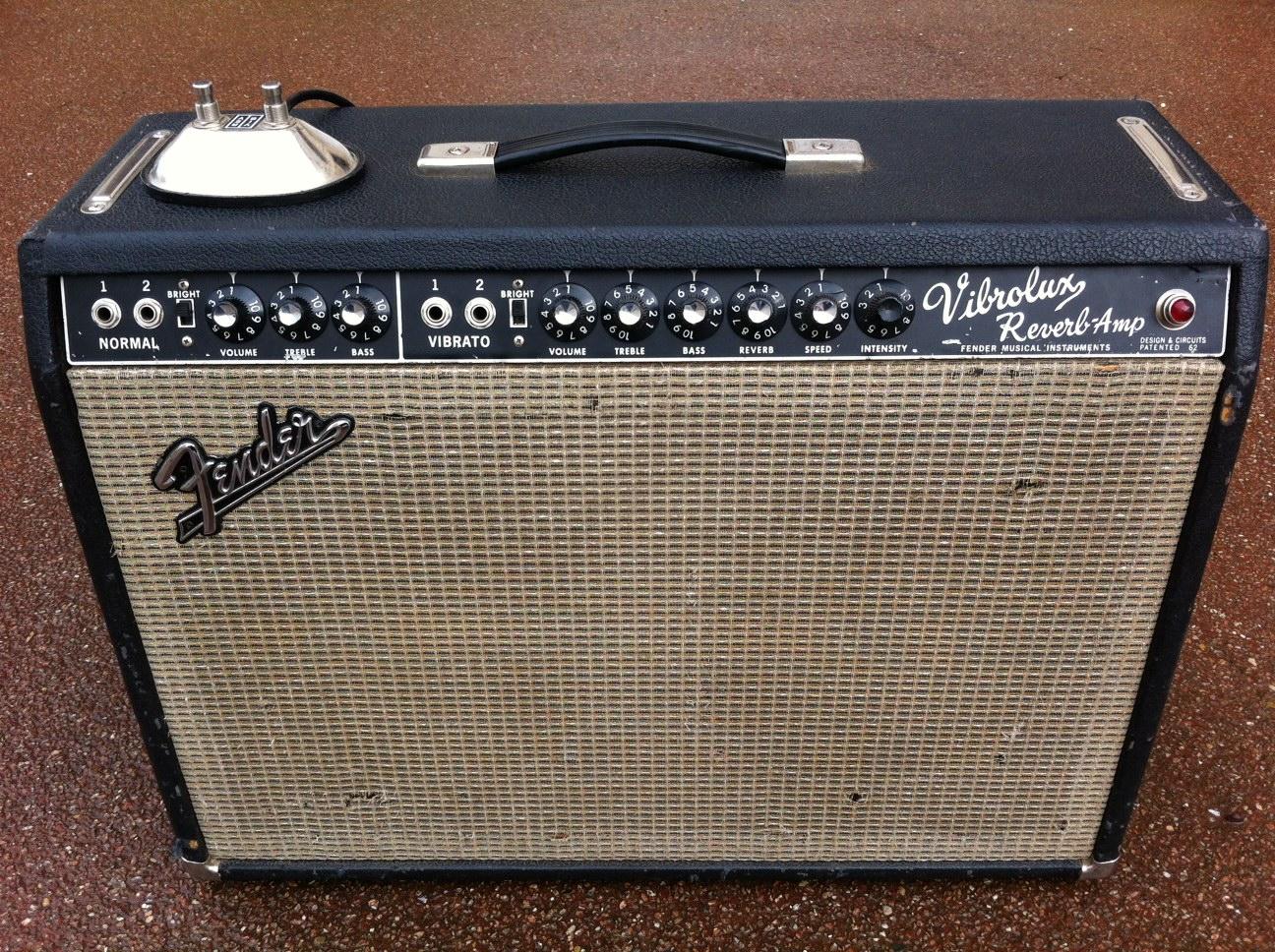 Vintage Fender Vibrolux Reverb 119