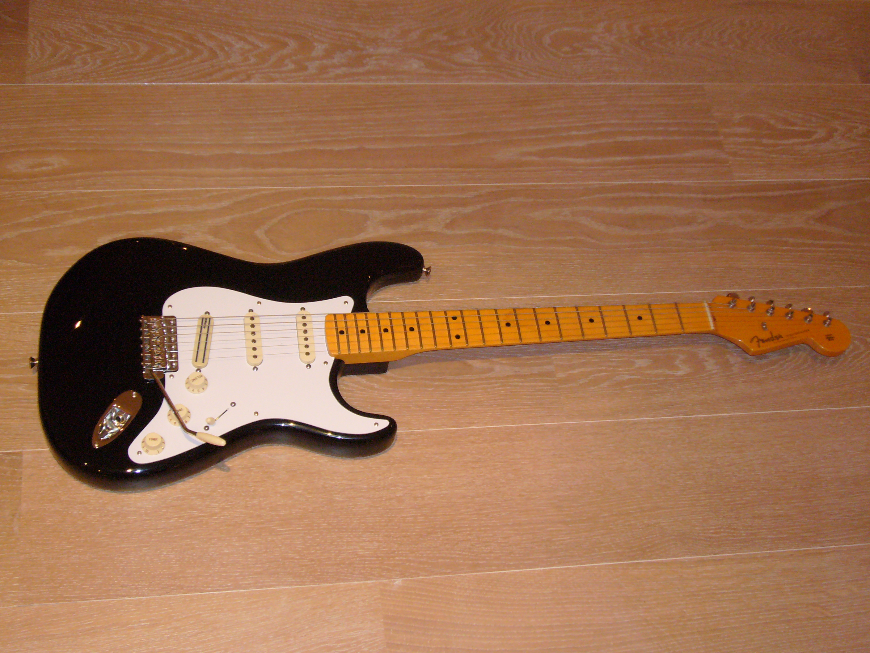 Gitarre Fender 57 Vintage Hot Rod Stratocaster Musiker